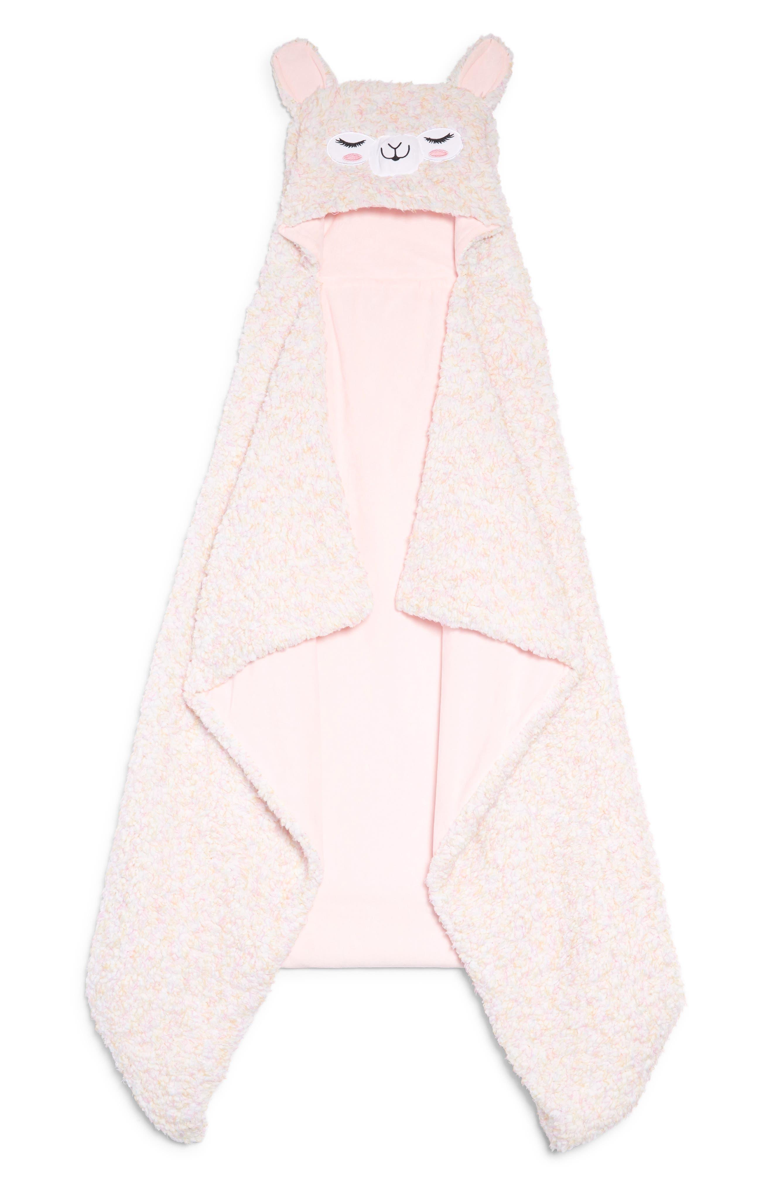 Alpaca Hooded Blanket,                         Main,                         color, 650
