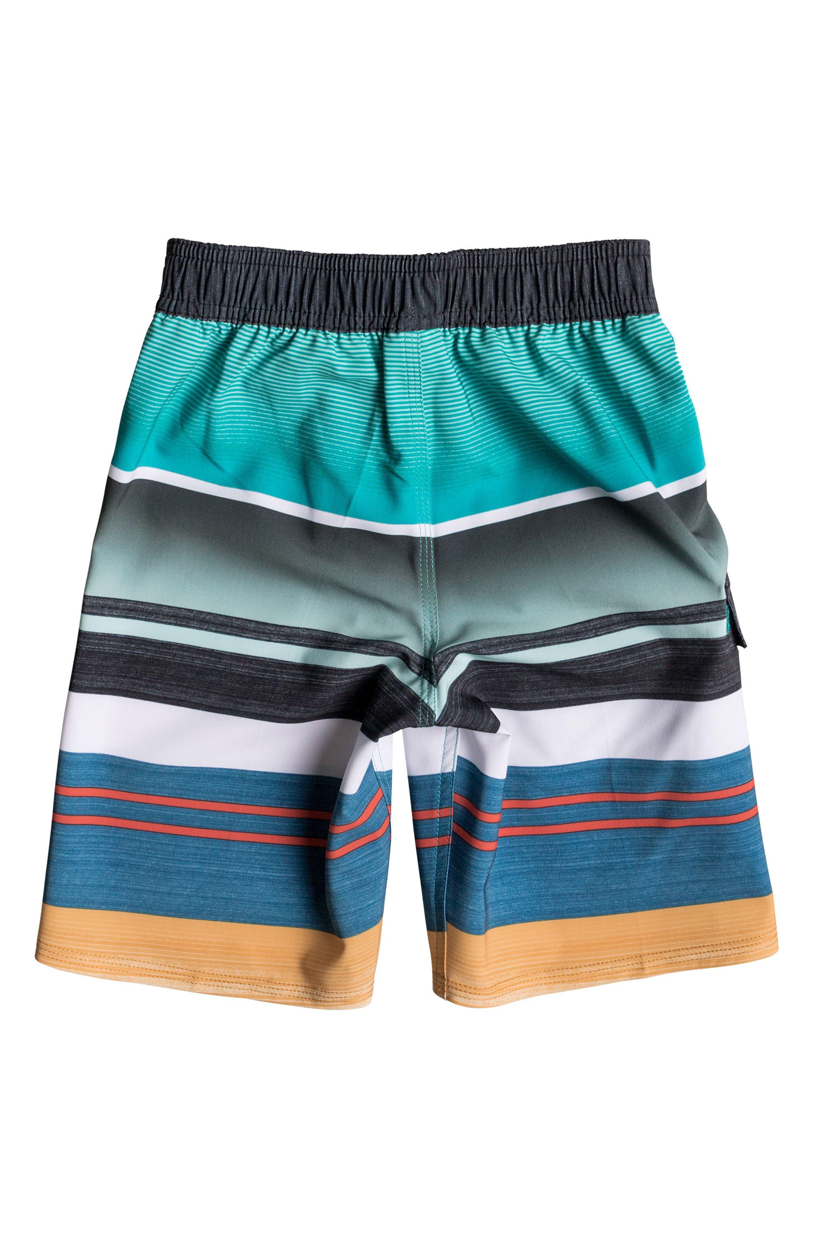 Everyday Stripe Vee Board Shorts,                             Alternate thumbnail 12, color,