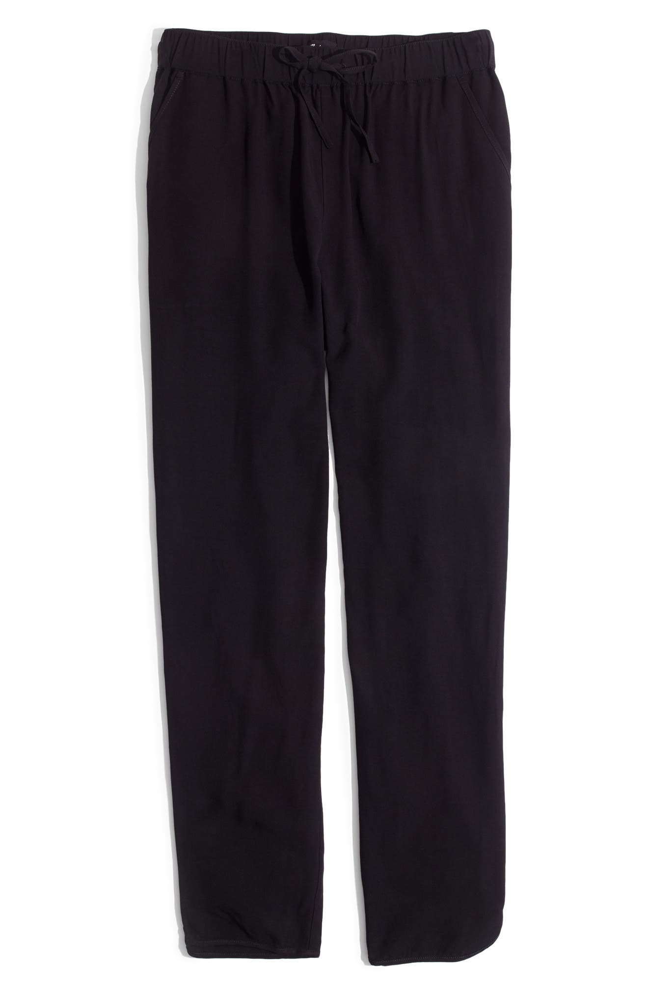MADEWELL,                             Track Trousers,                             Alternate thumbnail 5, color,                             TRUE BLACK