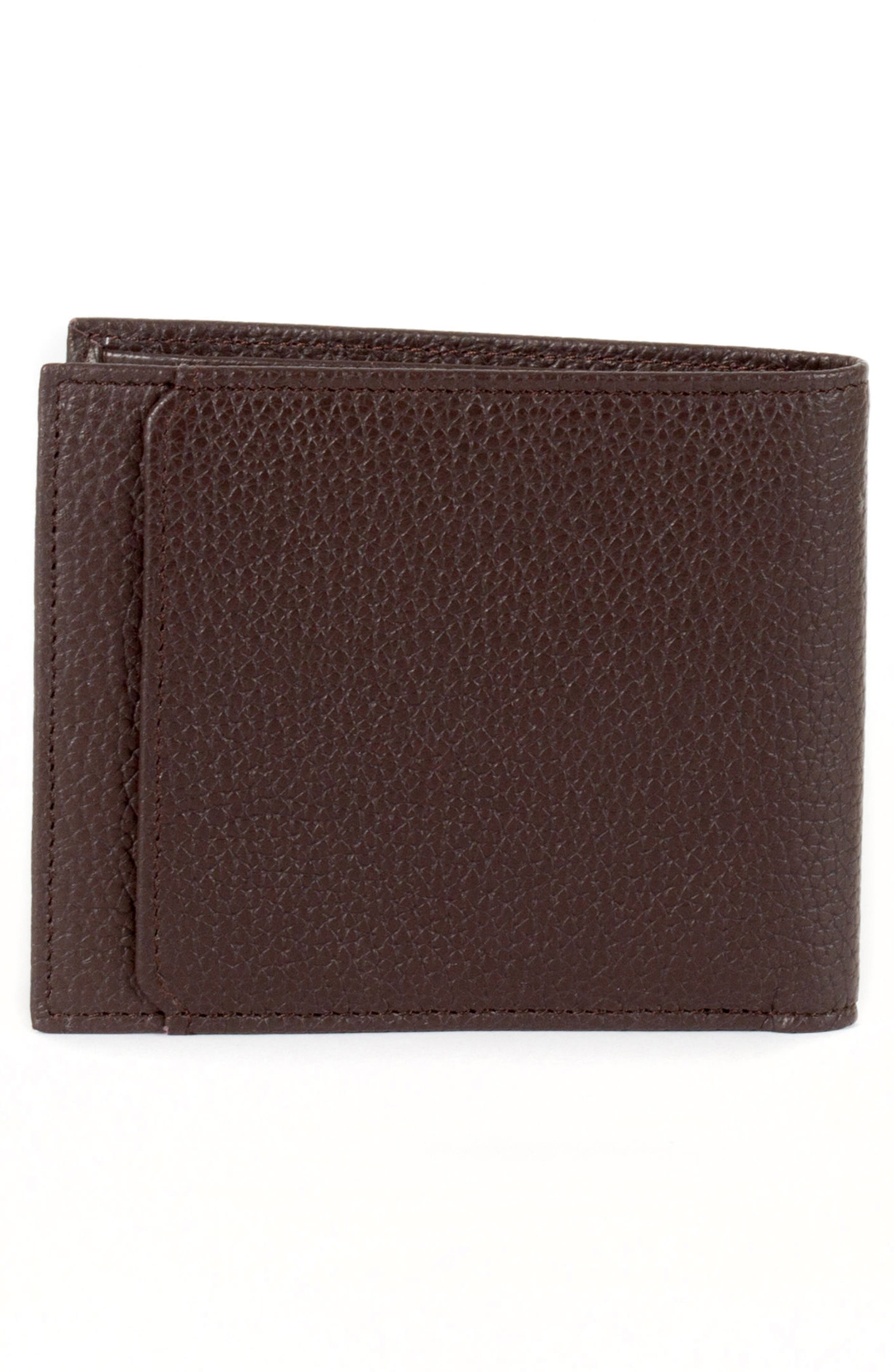 Garth Leather Bifold Wallet,                             Alternate thumbnail 6, color,