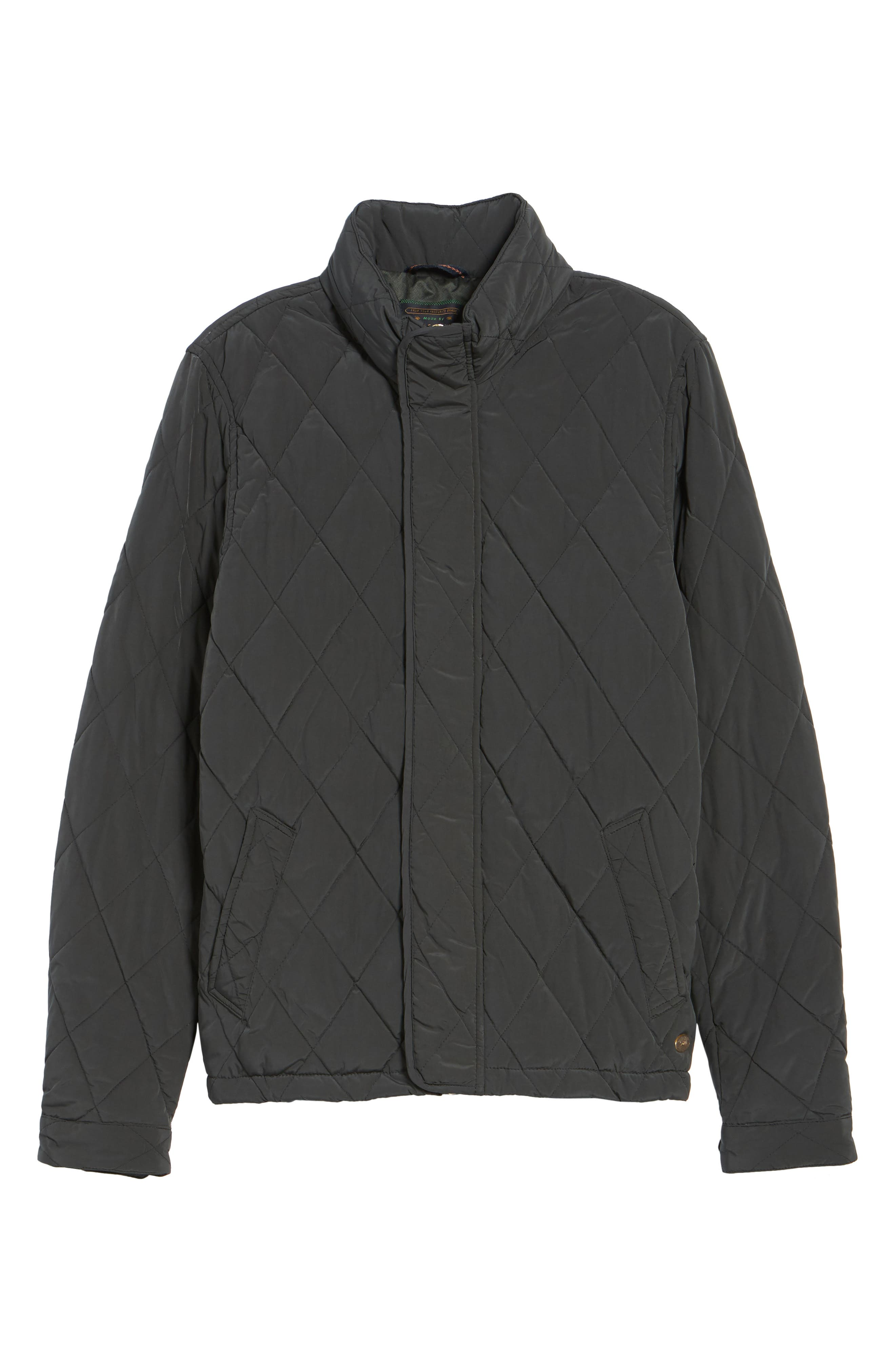 Lightweight Quilted Jacket,                             Alternate thumbnail 5, color,                             030