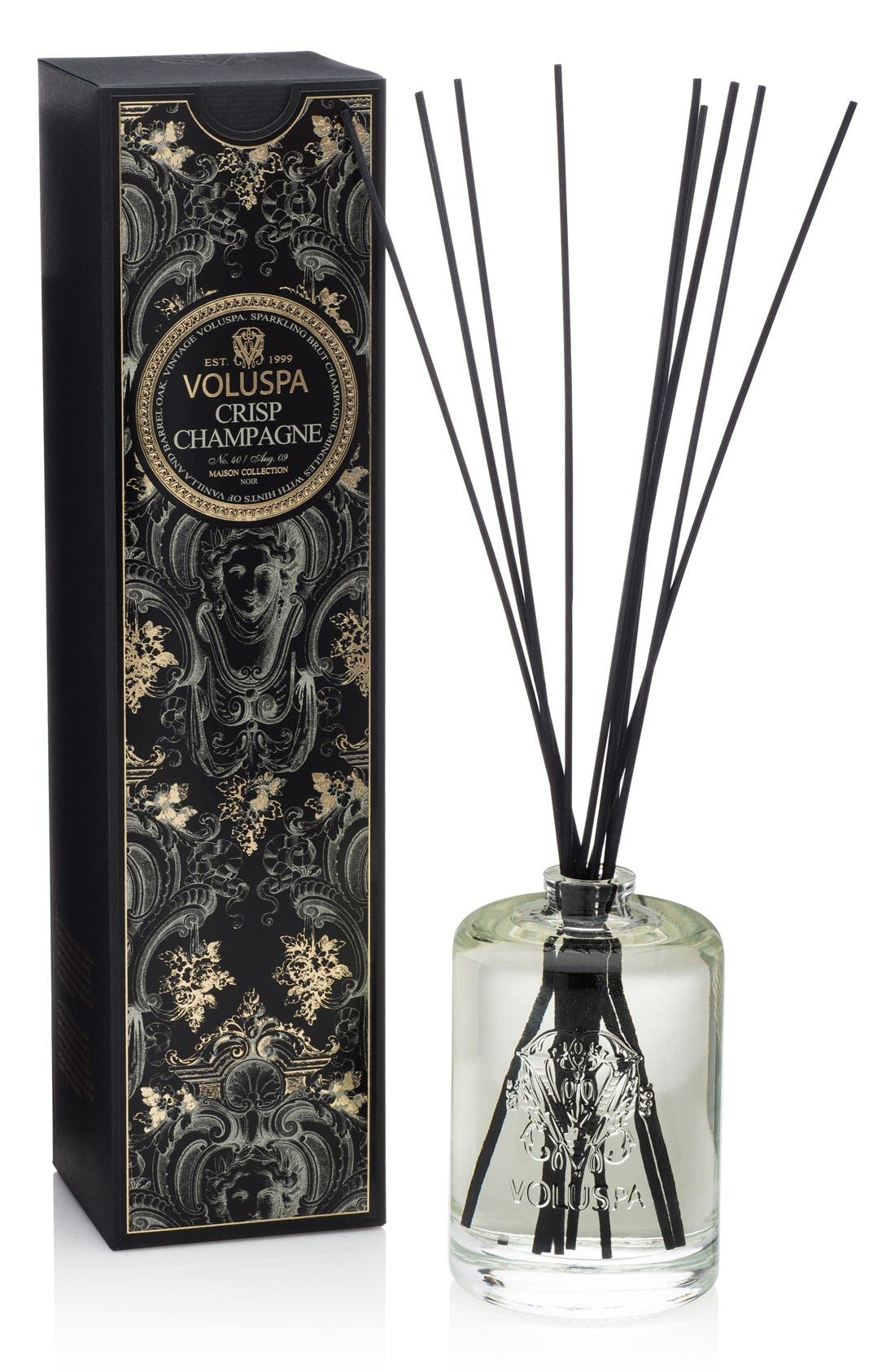 Maison Noir Crisp Champagne Fragrant Oil Diffuser,                             Main thumbnail 1, color,                             NO COLOR