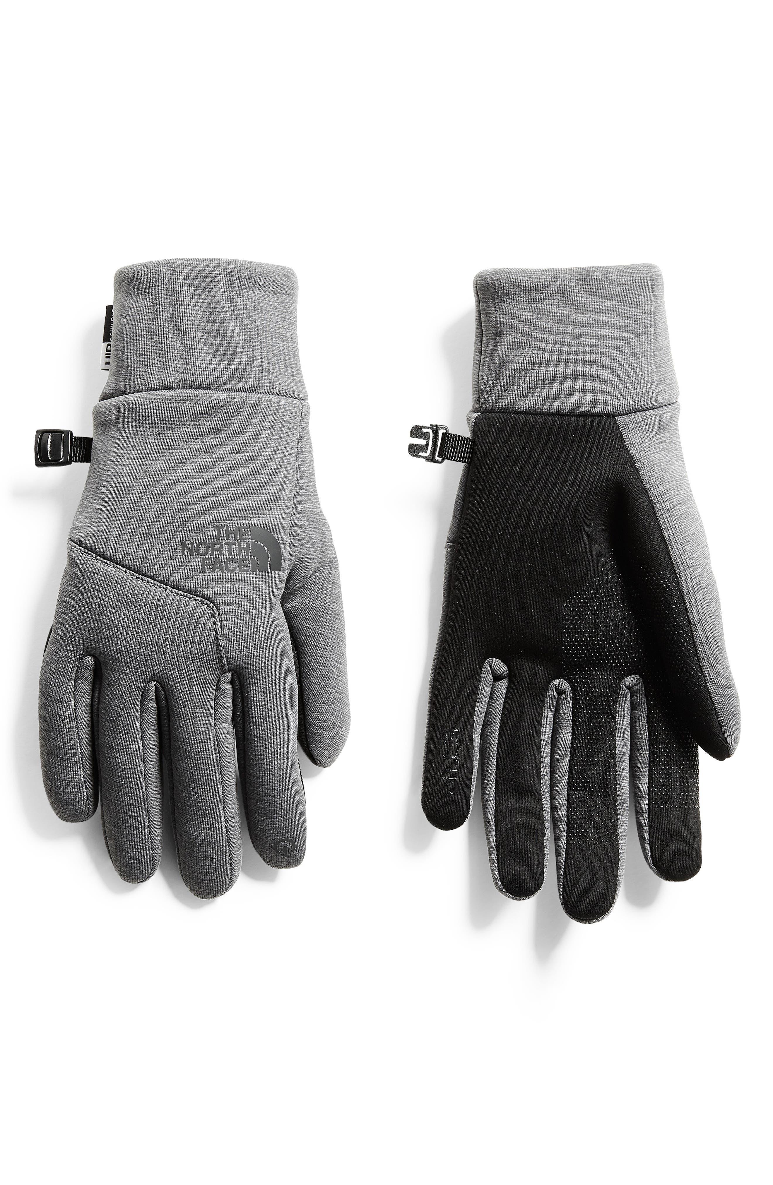 Etip<sup>™</sup> Hardface Tech Gloves,                             Main thumbnail 1, color,                             TNF MEDIUM GREY HEATHER (STD)