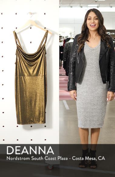 Cowl Neck Minidress, sales video thumbnail