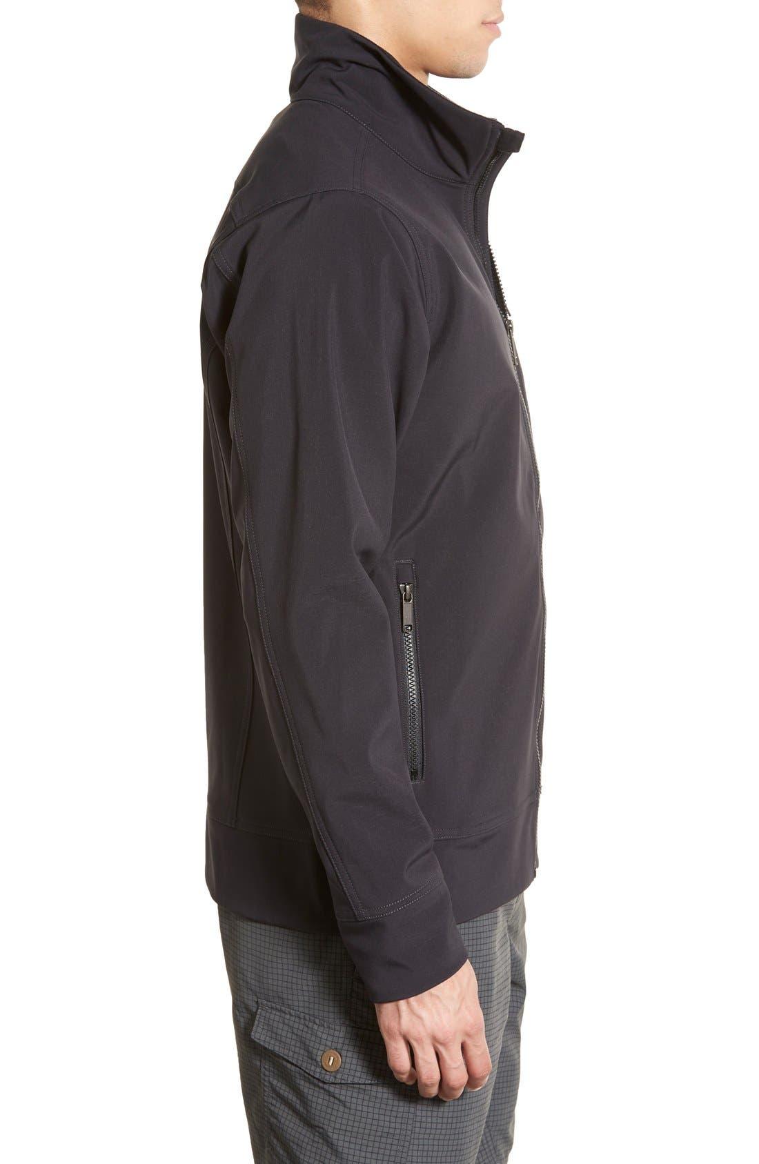 'Sidesend' Regular Fit Water Repellent Jacket,                             Alternate thumbnail 7, color,