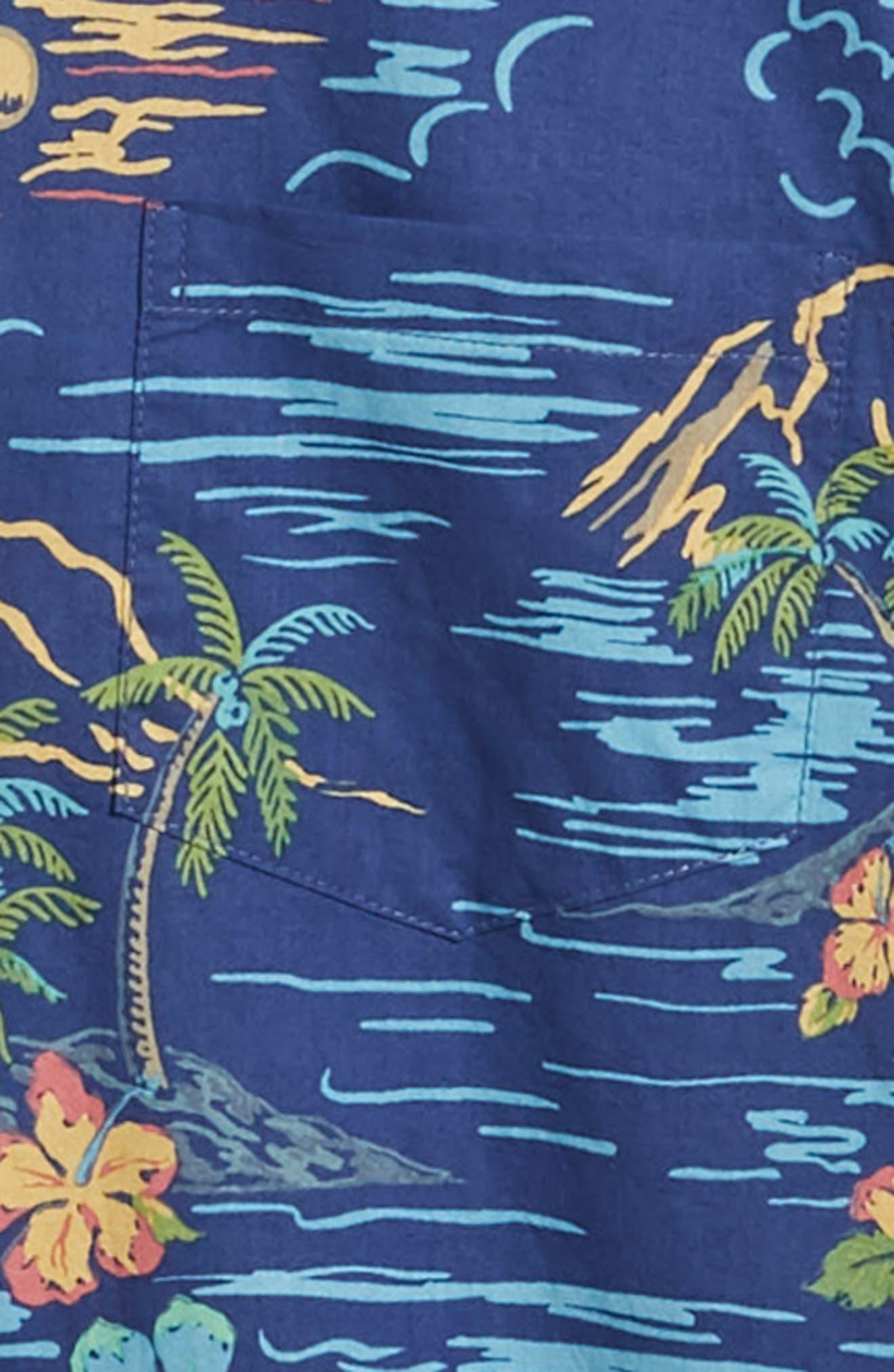 Bali Trim Fit Sport Shirt,                             Alternate thumbnail 7, color,                             415
