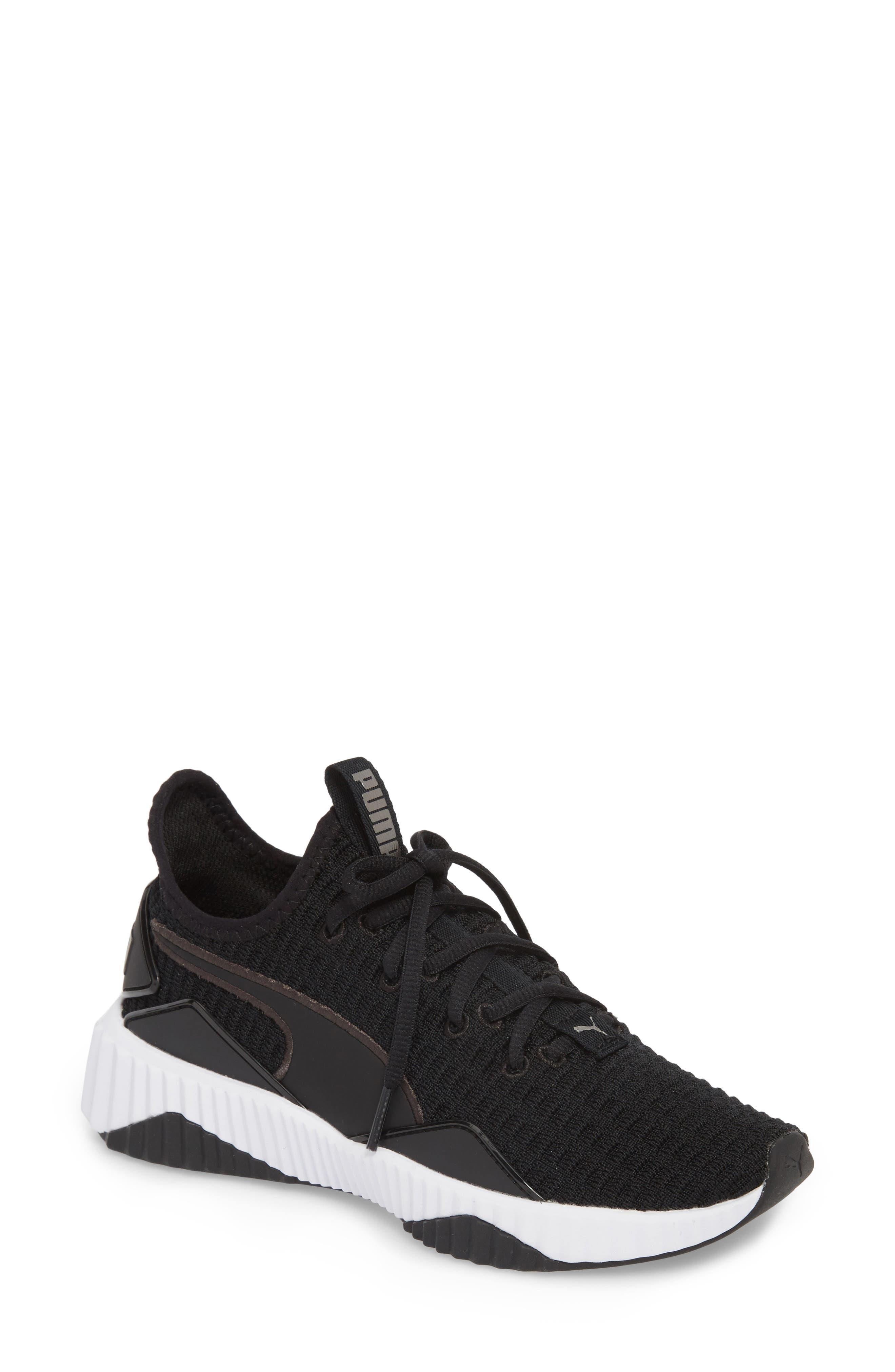 Defy Sneaker,                         Main,                         color, 001