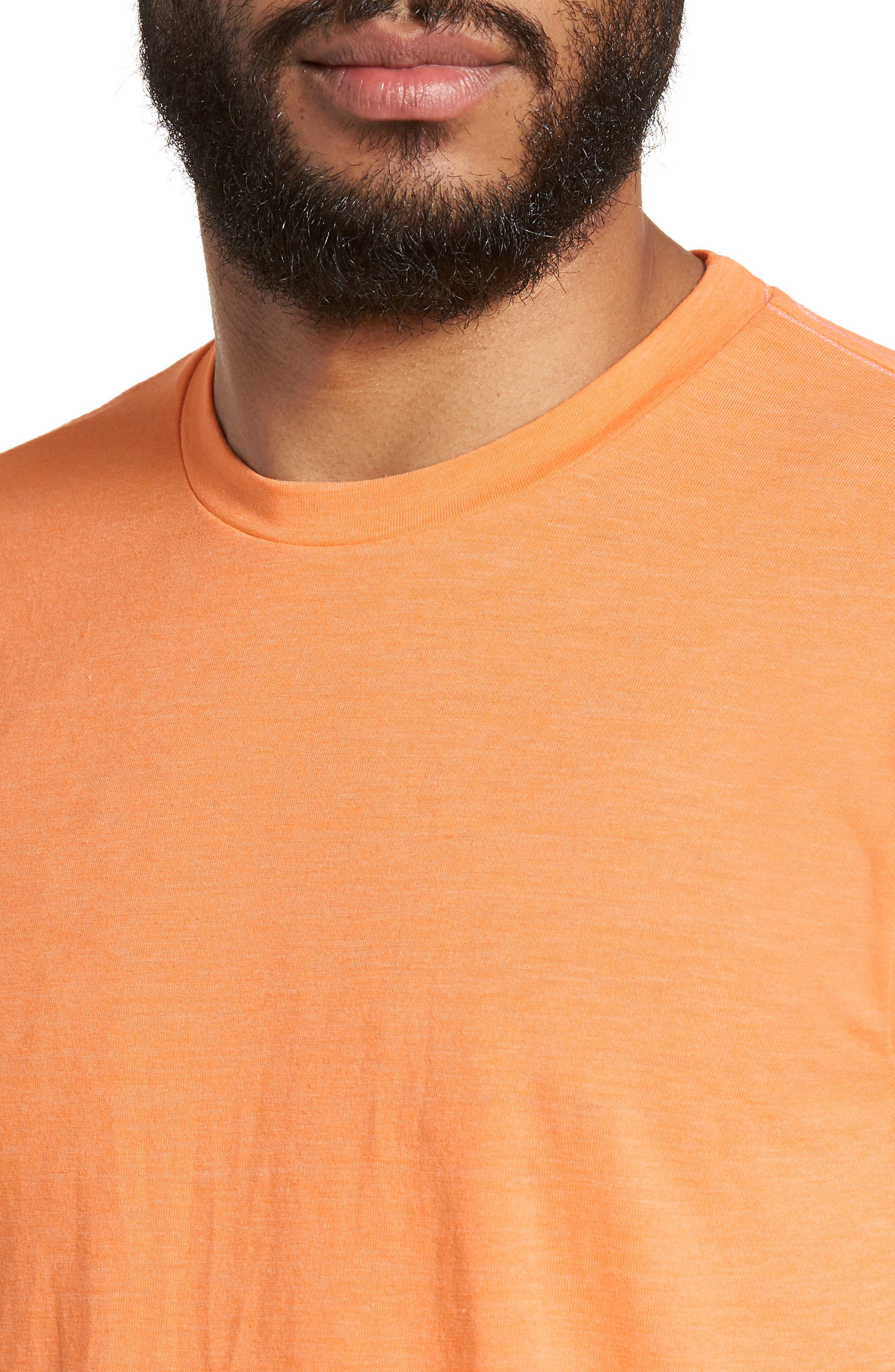 Scallop Triblend Crewneck T-Shirt,                             Alternate thumbnail 83, color,