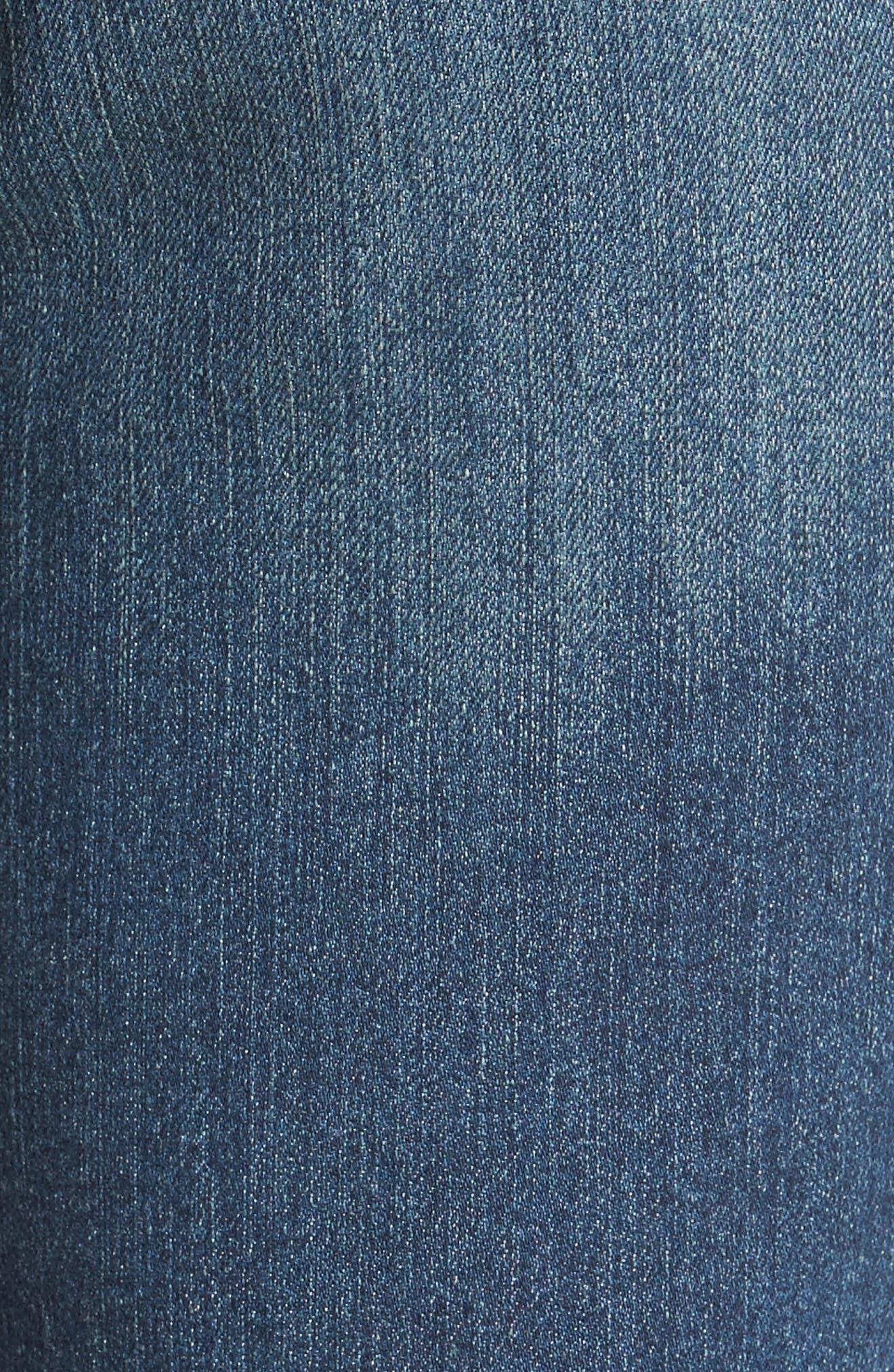 'Dayla' Colored Wide Cuff Capri Jeans,                             Alternate thumbnail 66, color,