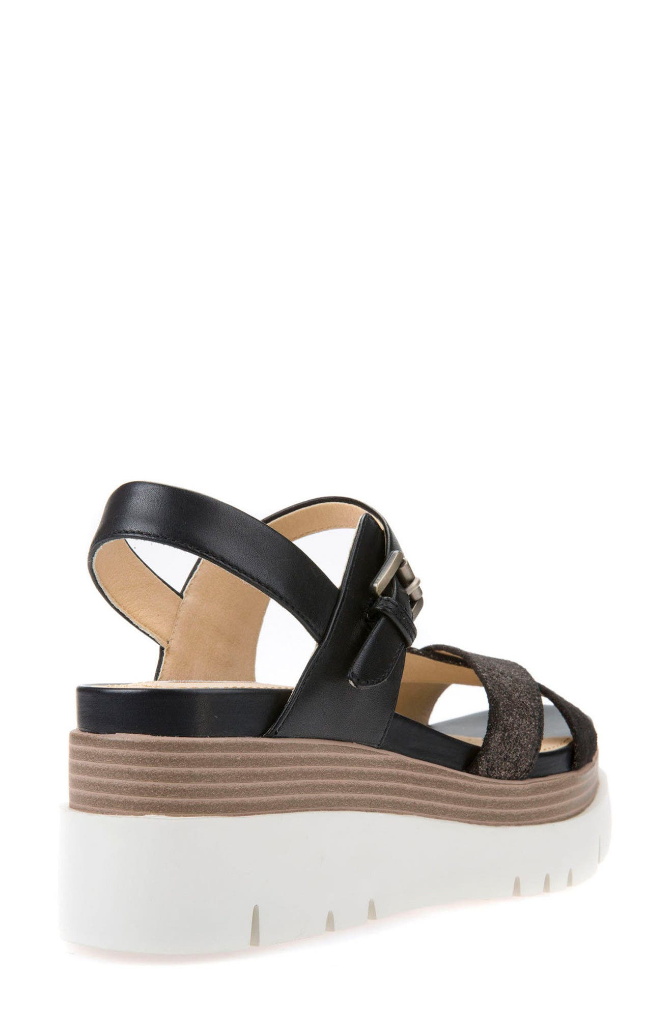 Radwa Platform Sandal,                             Alternate thumbnail 2, color,                             001