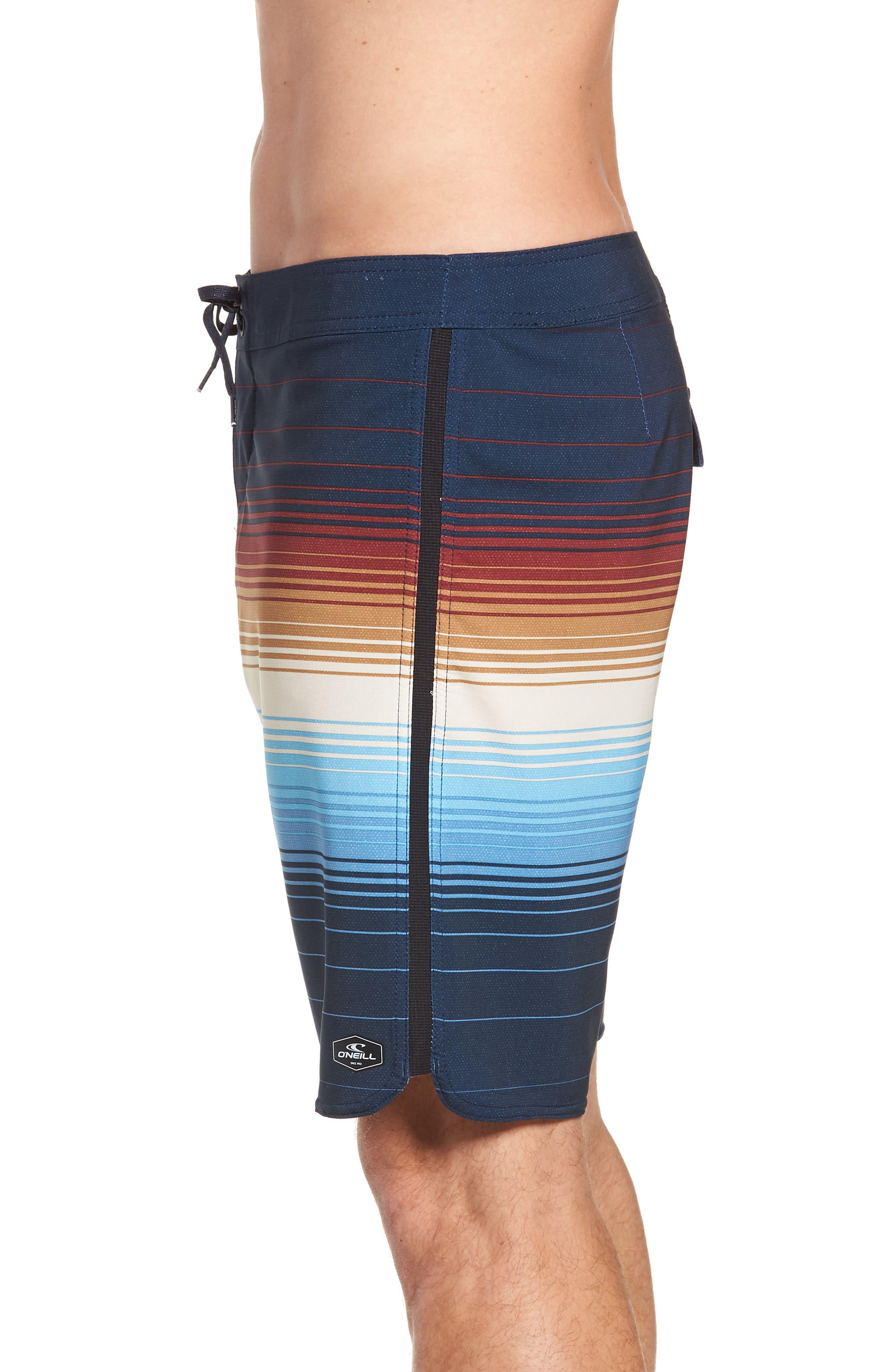 Superfreak Villa Board Shorts,                             Alternate thumbnail 4, color,                             NAVY
