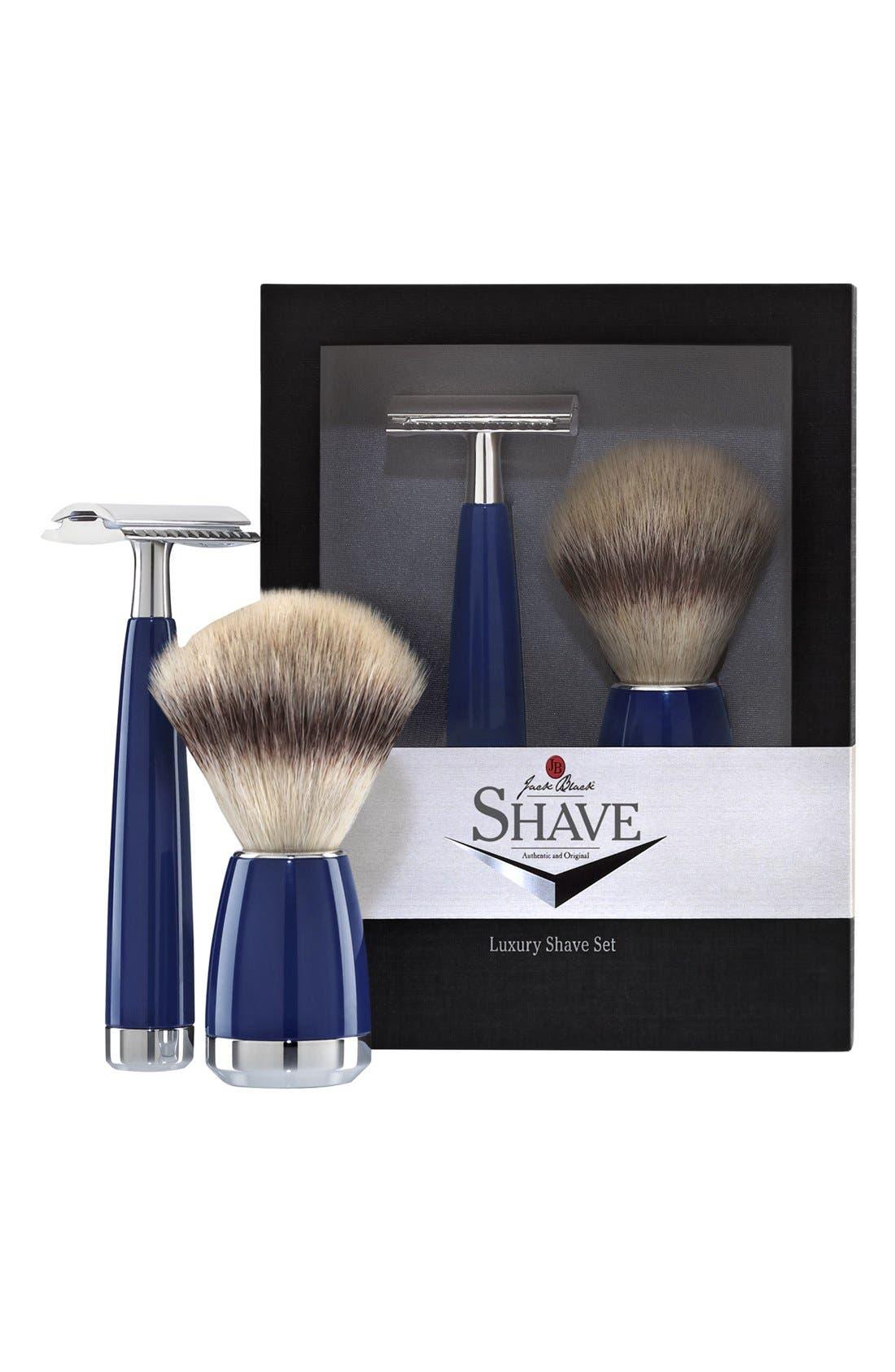 Luxury Shave Set,                             Main thumbnail 1, color,                             000
