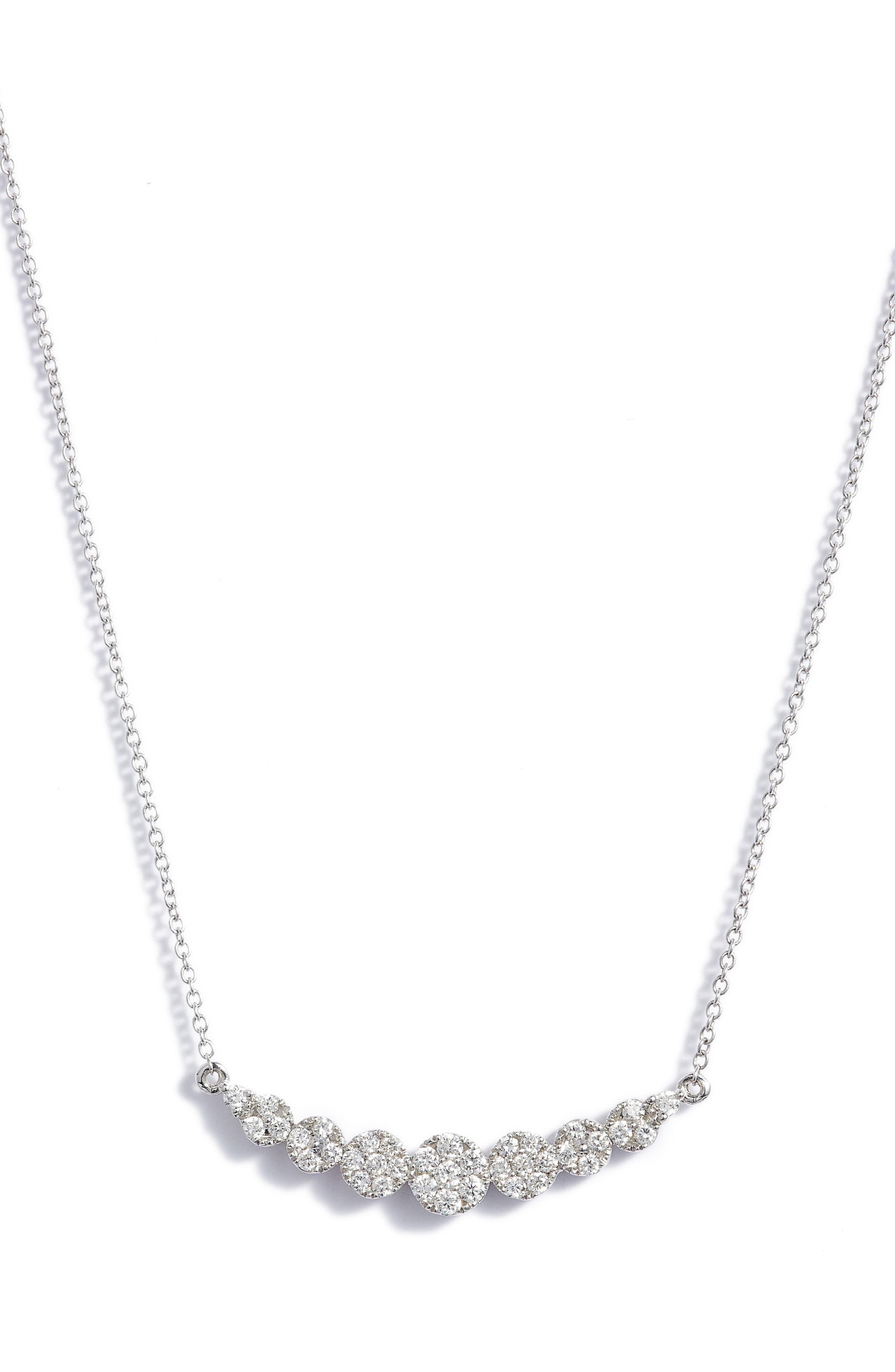 BONY LEVY,                             'Liora' Diamond Pendant Necklace,                             Alternate thumbnail 3, color,                             711