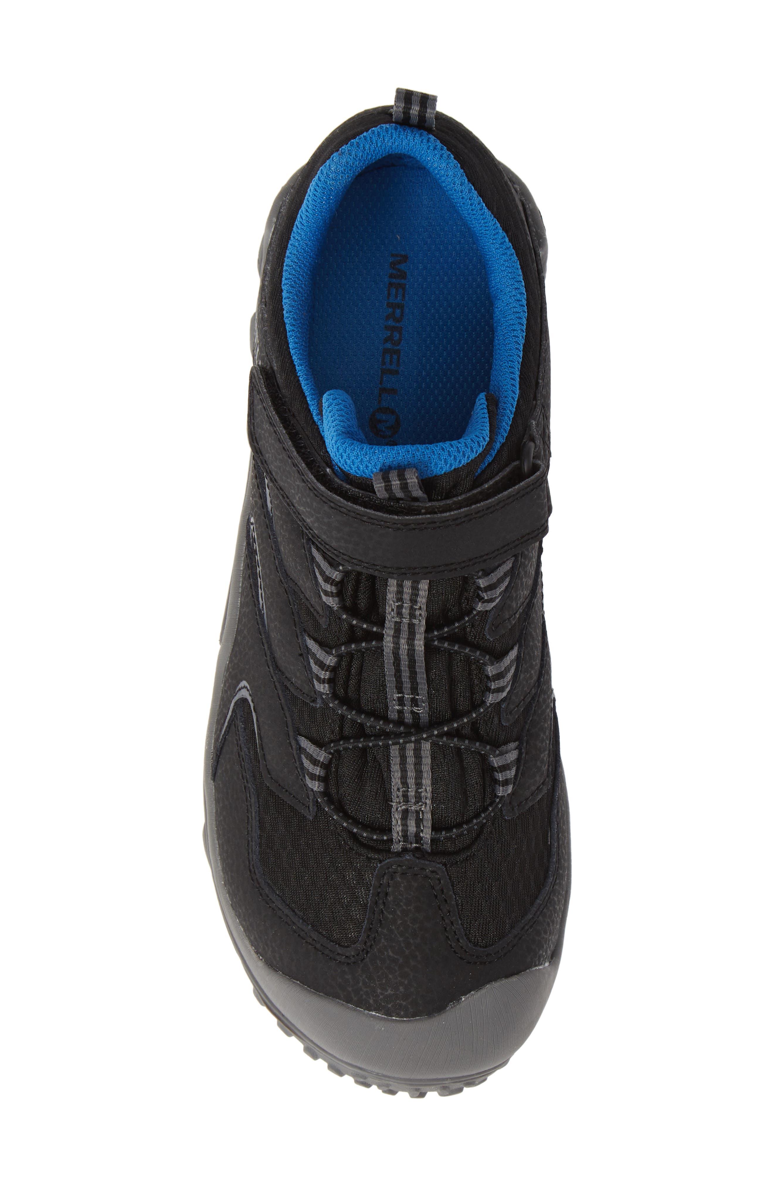 Chameleon 7 Waterproof Sneaker,                             Alternate thumbnail 5, color,                             BLACK