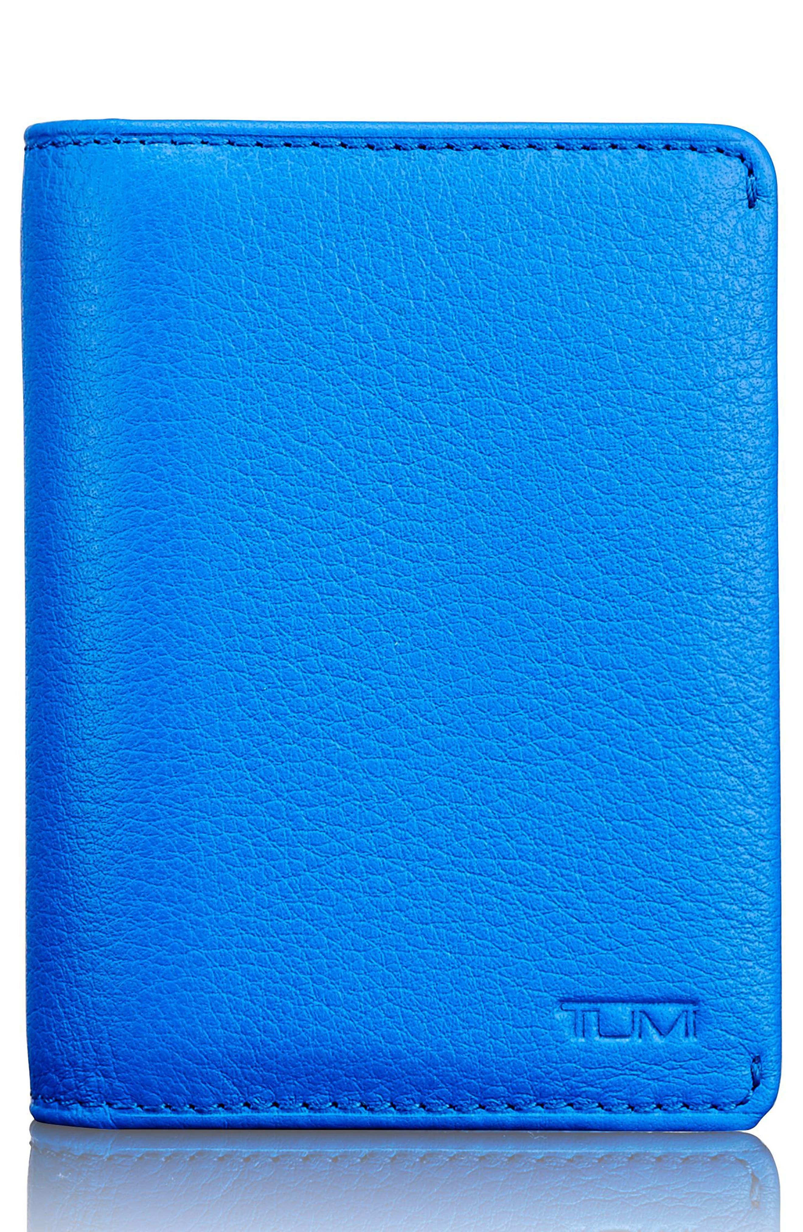 Leather RFID Card Case,                             Main thumbnail 3, color,
