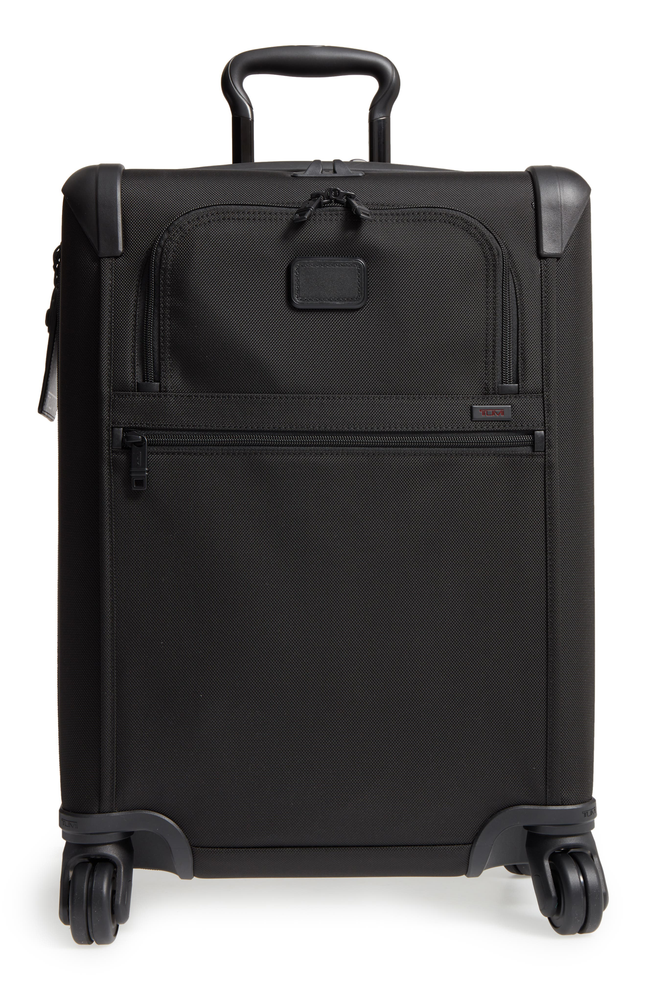 Alpha 2 Continental 22-Inch Carry-On,                             Alternate thumbnail 2, color,                             BLACK