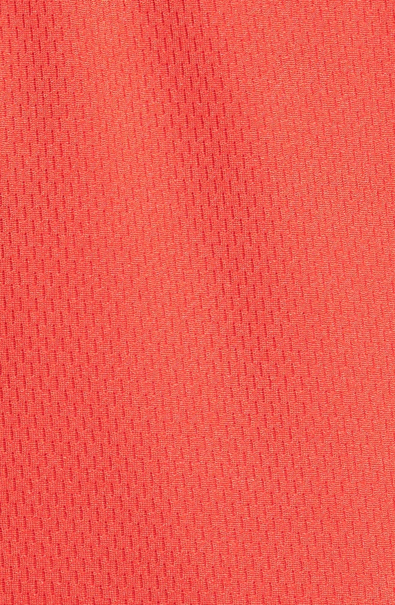 Elite Stripe Basketball Shorts,                             Alternate thumbnail 5, color,                             UNIVERSITY RED/ BLACK