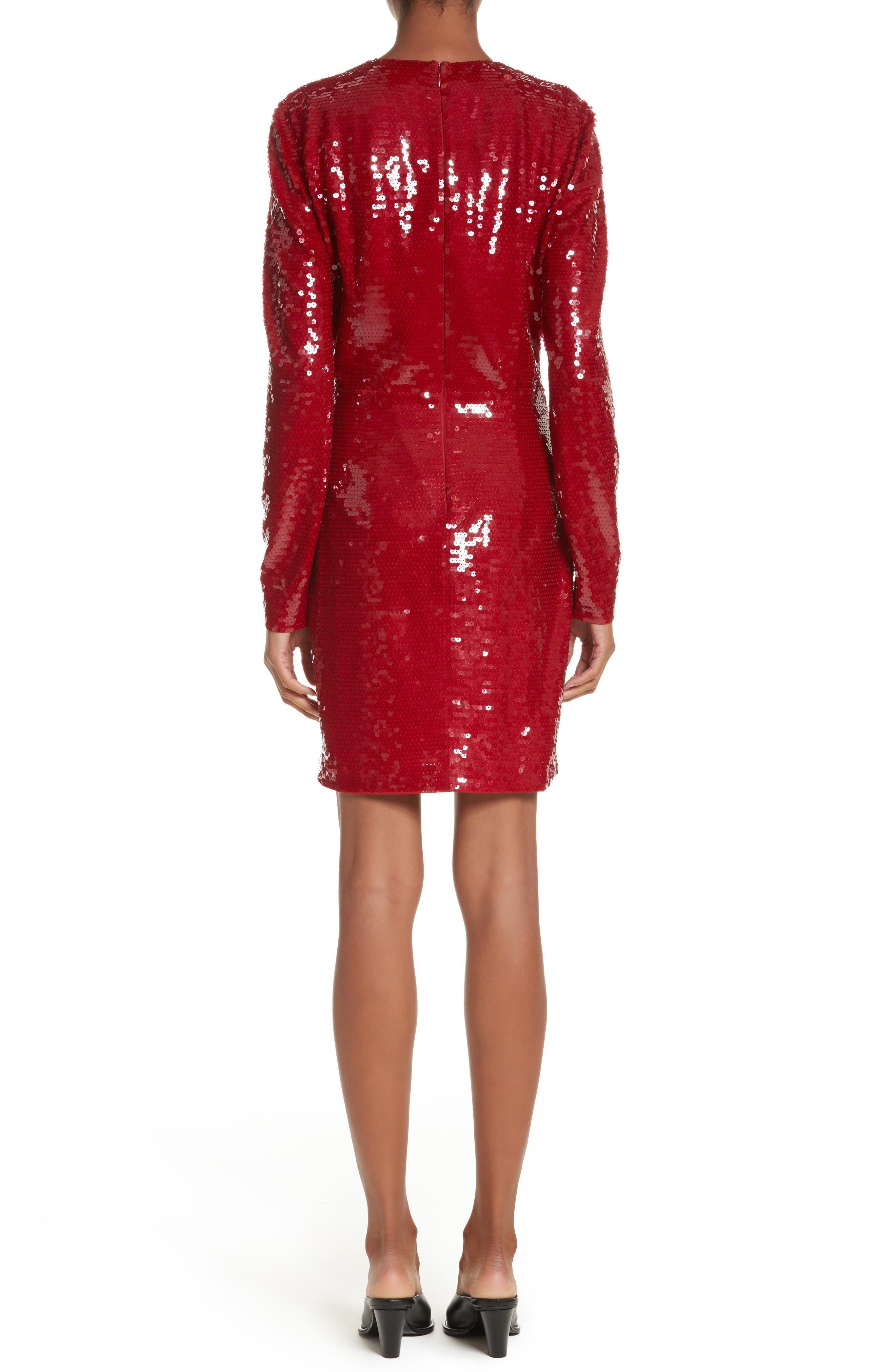 Katie Sequin Dress,                             Alternate thumbnail 2, color,                             600