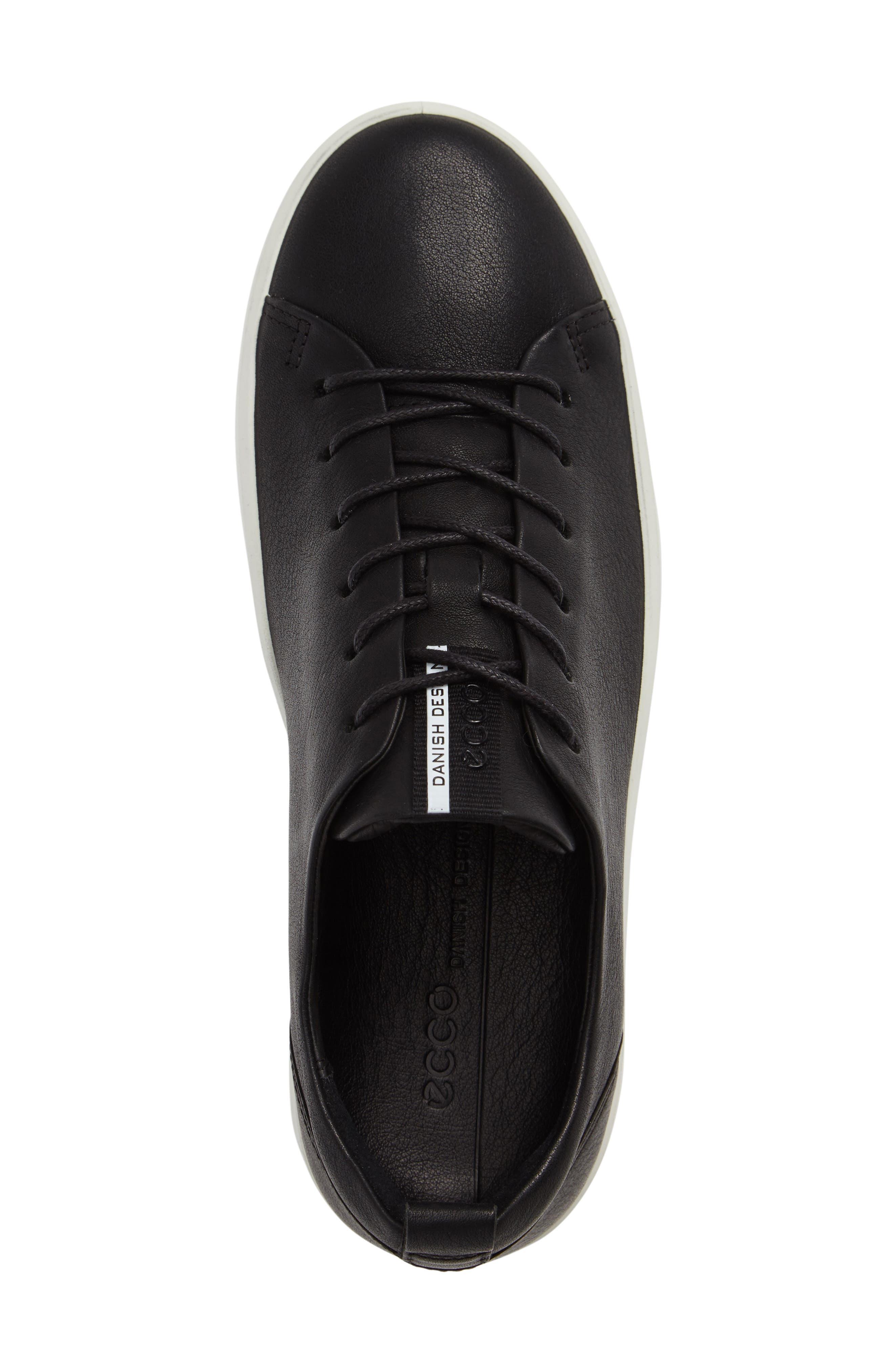 Soft 8 Sneaker,                             Alternate thumbnail 3, color,                             BLACK