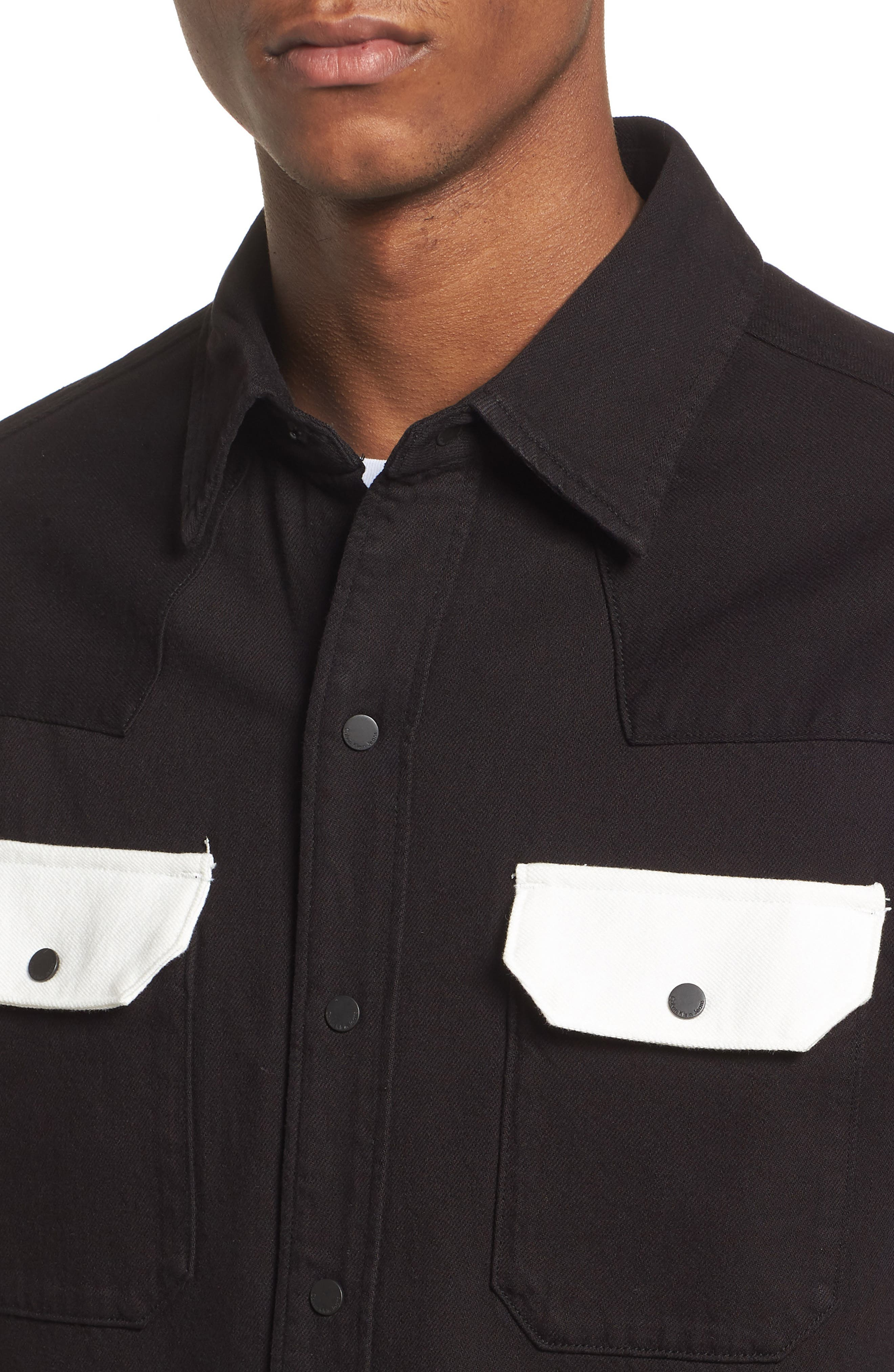 Archive Western Blocked Shirt,                             Alternate thumbnail 4, color,