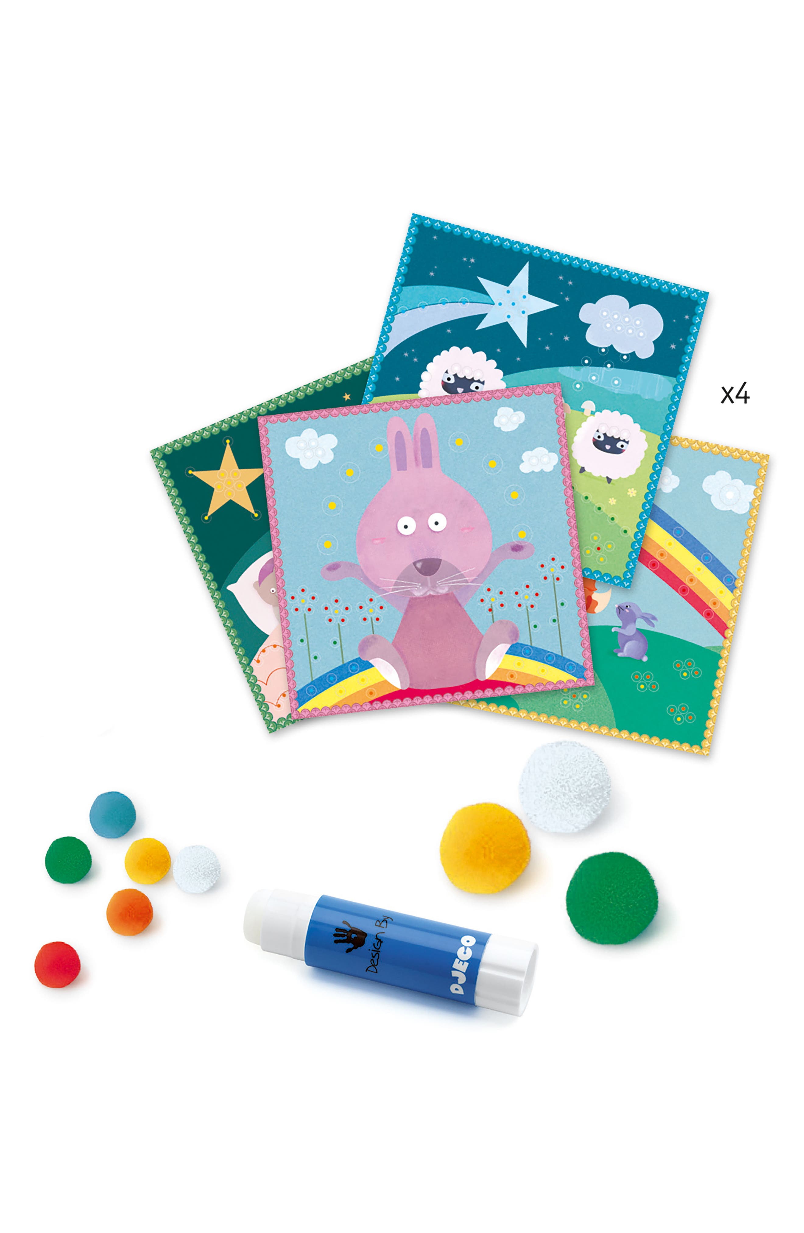 Softly Softly Pompom Boards,                             Alternate thumbnail 3, color,                             400