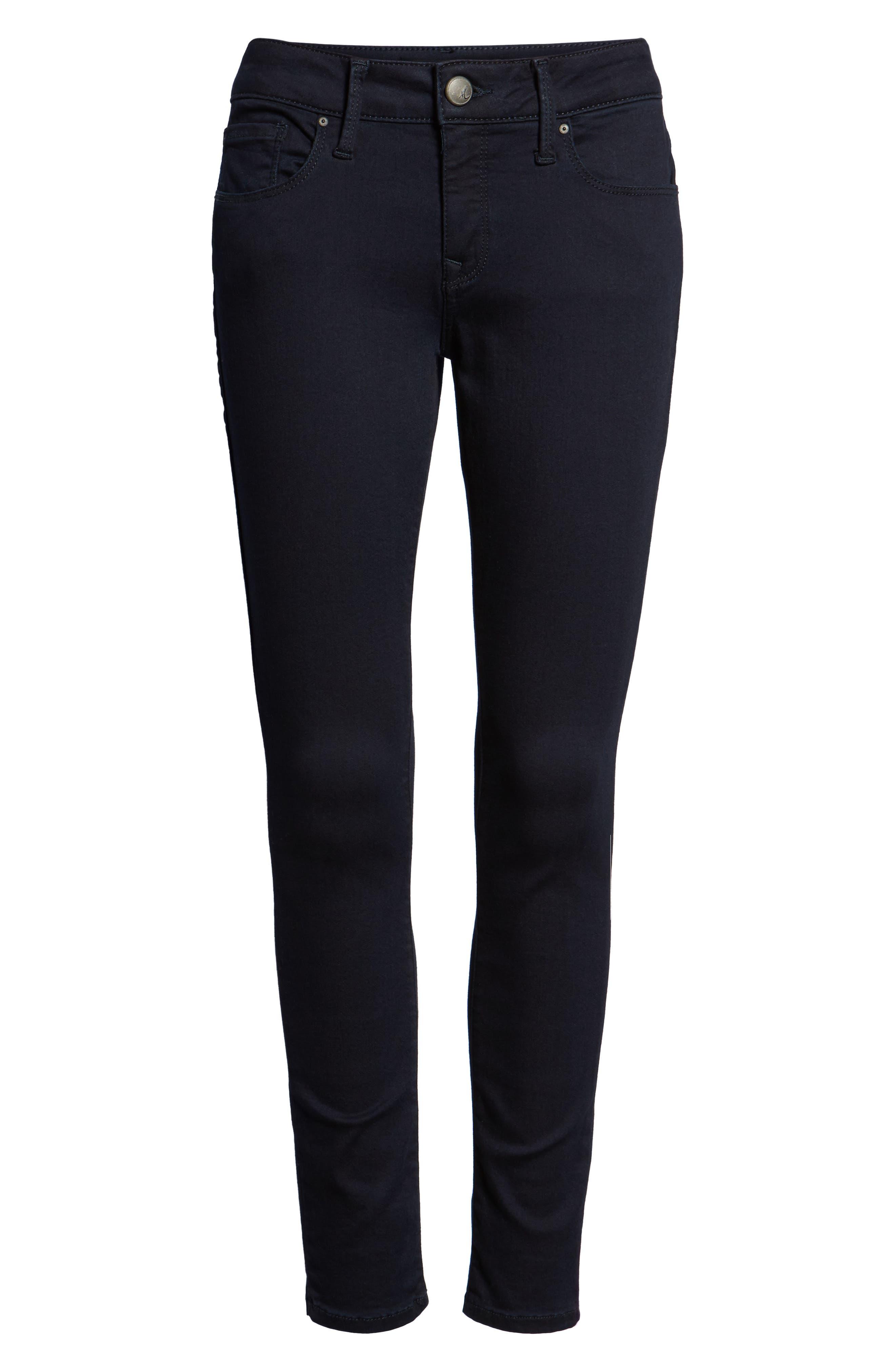 'Alexa' Midrise Skinny Jeans,                             Alternate thumbnail 7, color,                             401