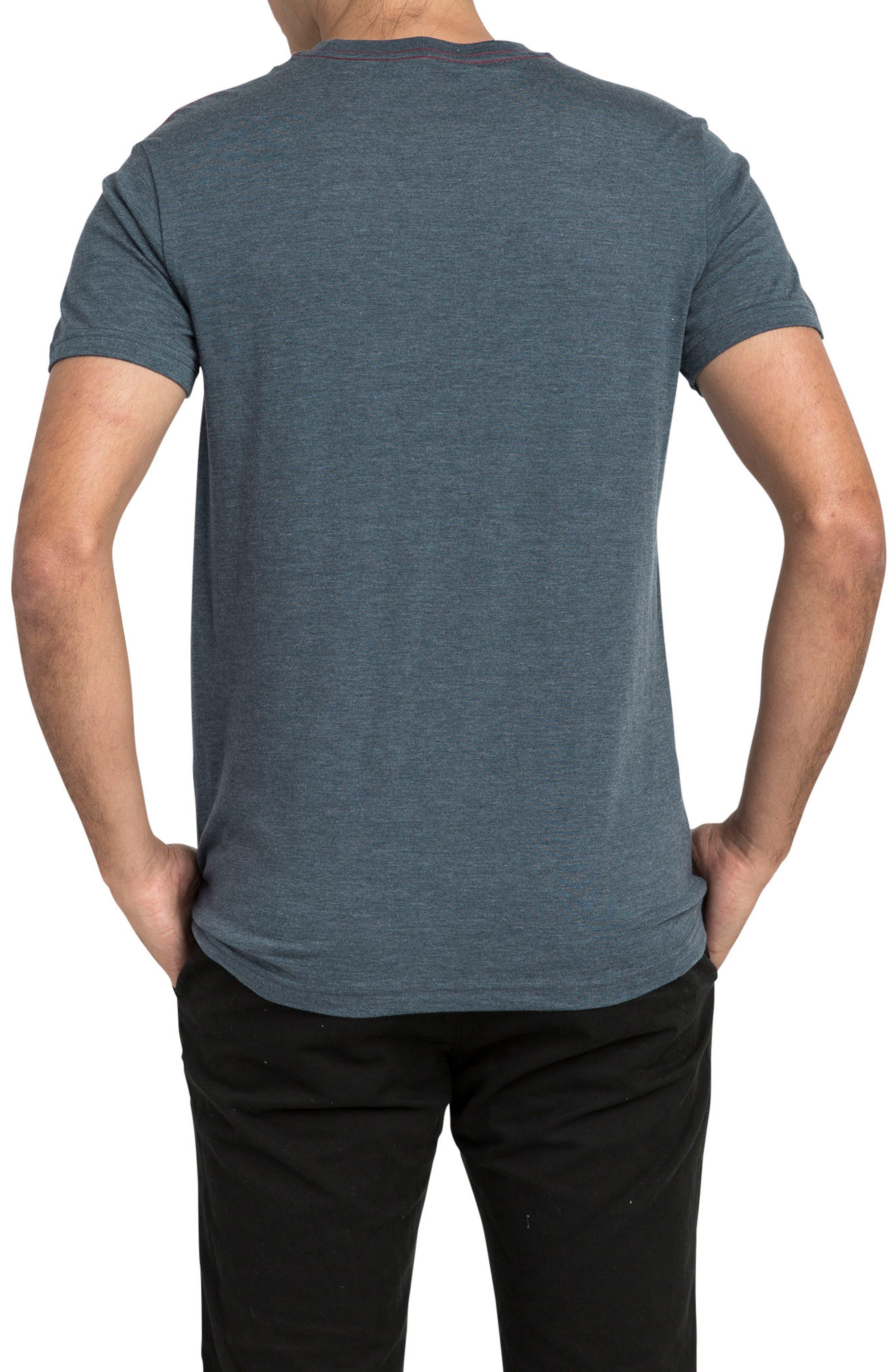 Motors Inc Logo Graphic T-Shirt,                             Alternate thumbnail 2, color,                             DARK DENIM
