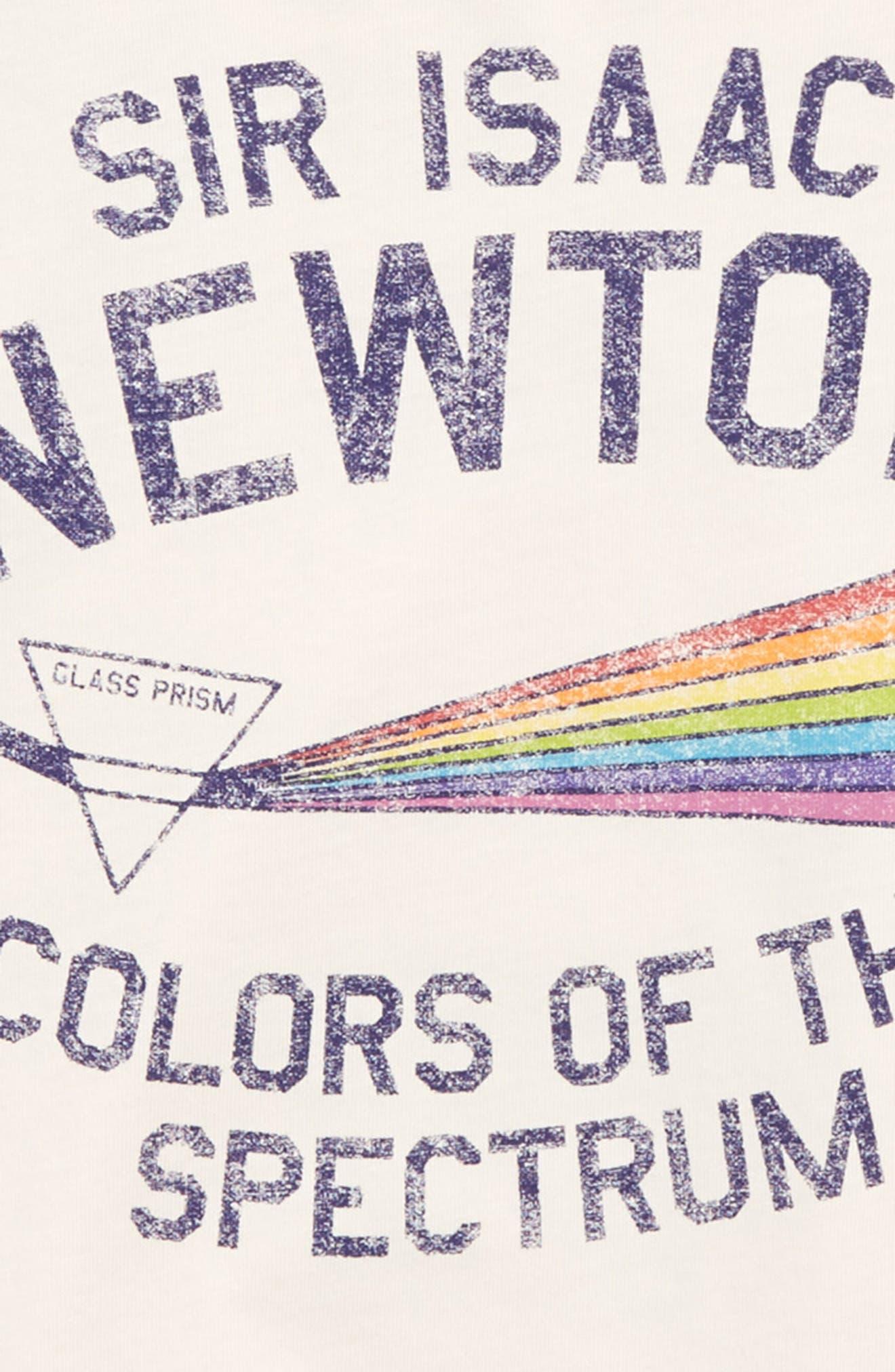 Colors Graphic Raglan Shirt,                             Alternate thumbnail 3, color,                             100