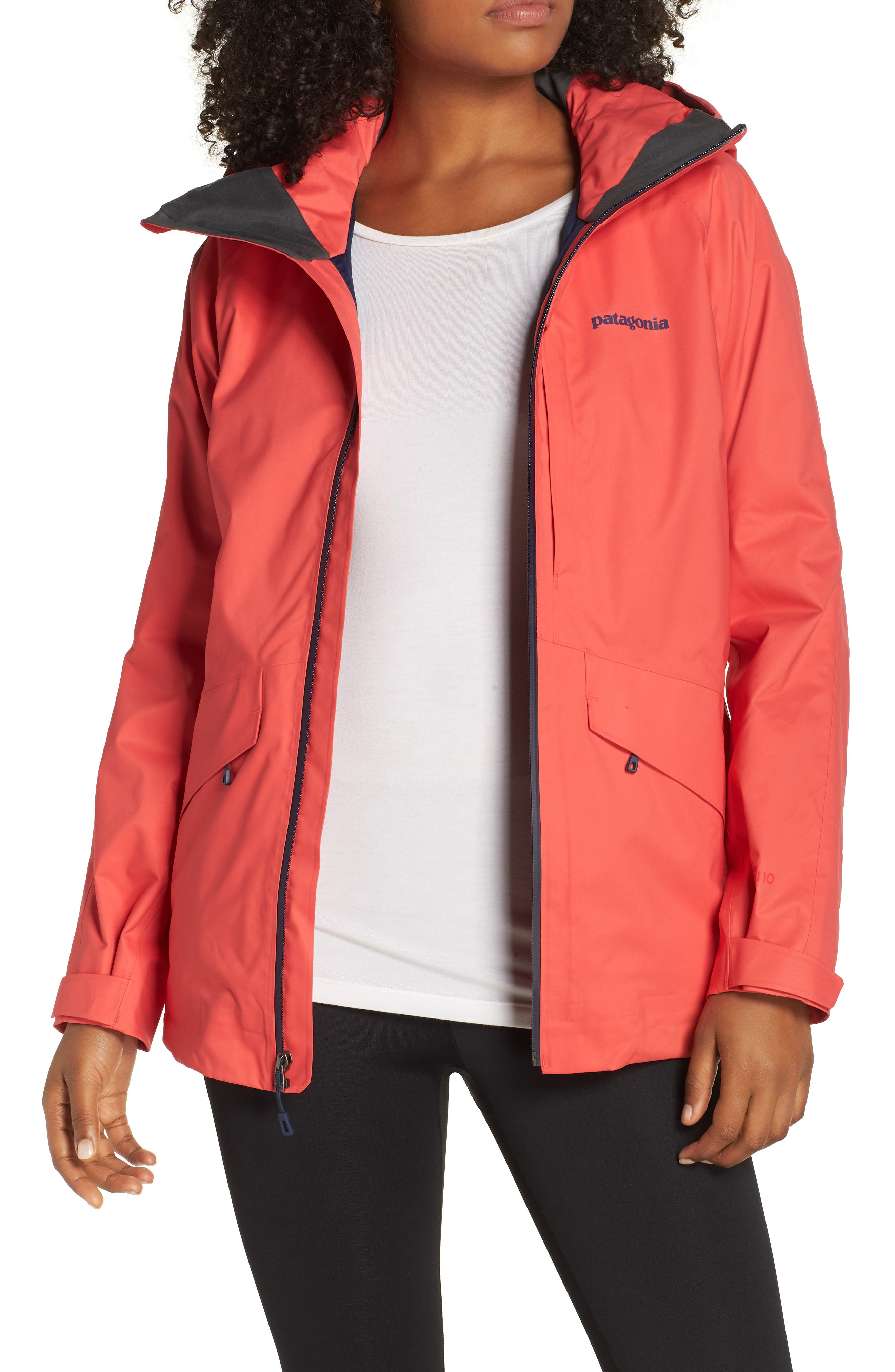 Patagonia Snowbelle Insulated Ski Jacket, Red