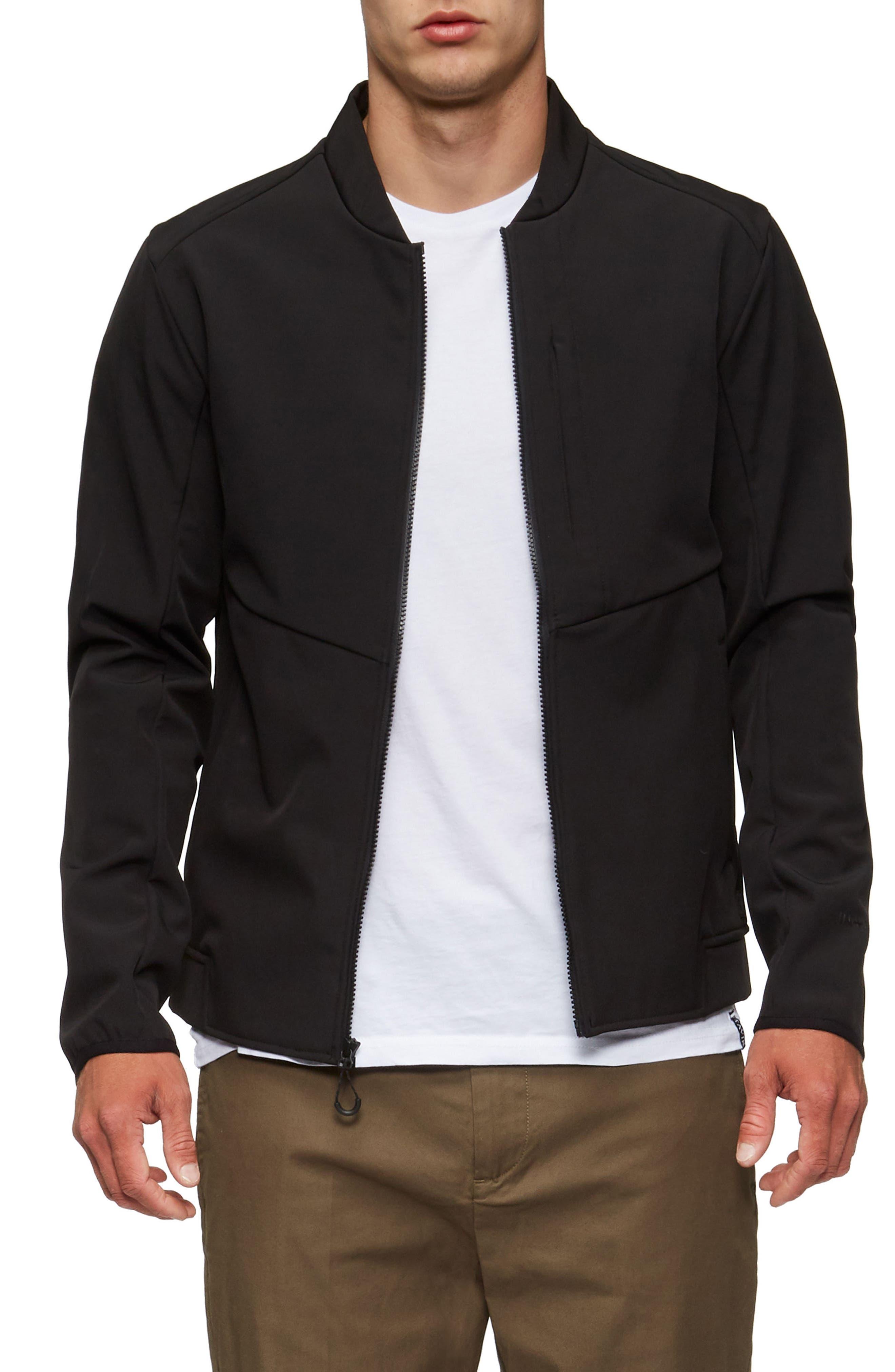 Decoy Fleece Jacket,                             Alternate thumbnail 4, color,                             001