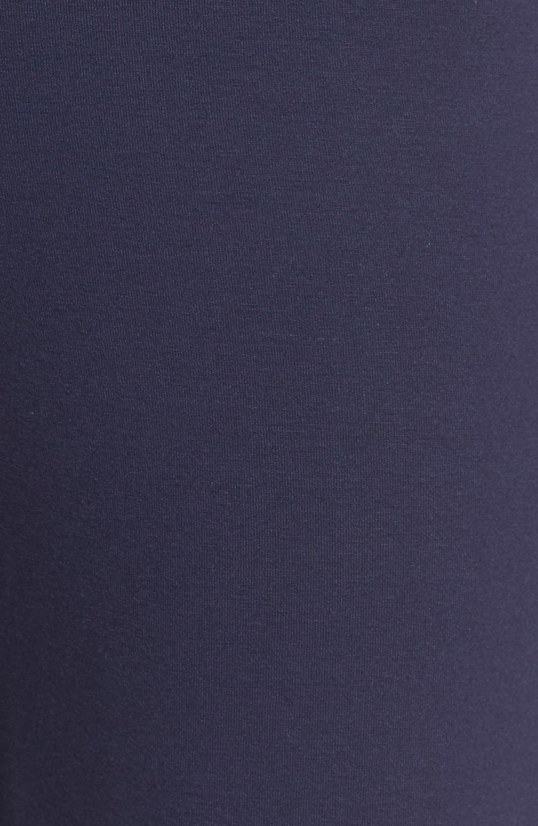 Crop Jersey Pants,                             Alternate thumbnail 5, color,
