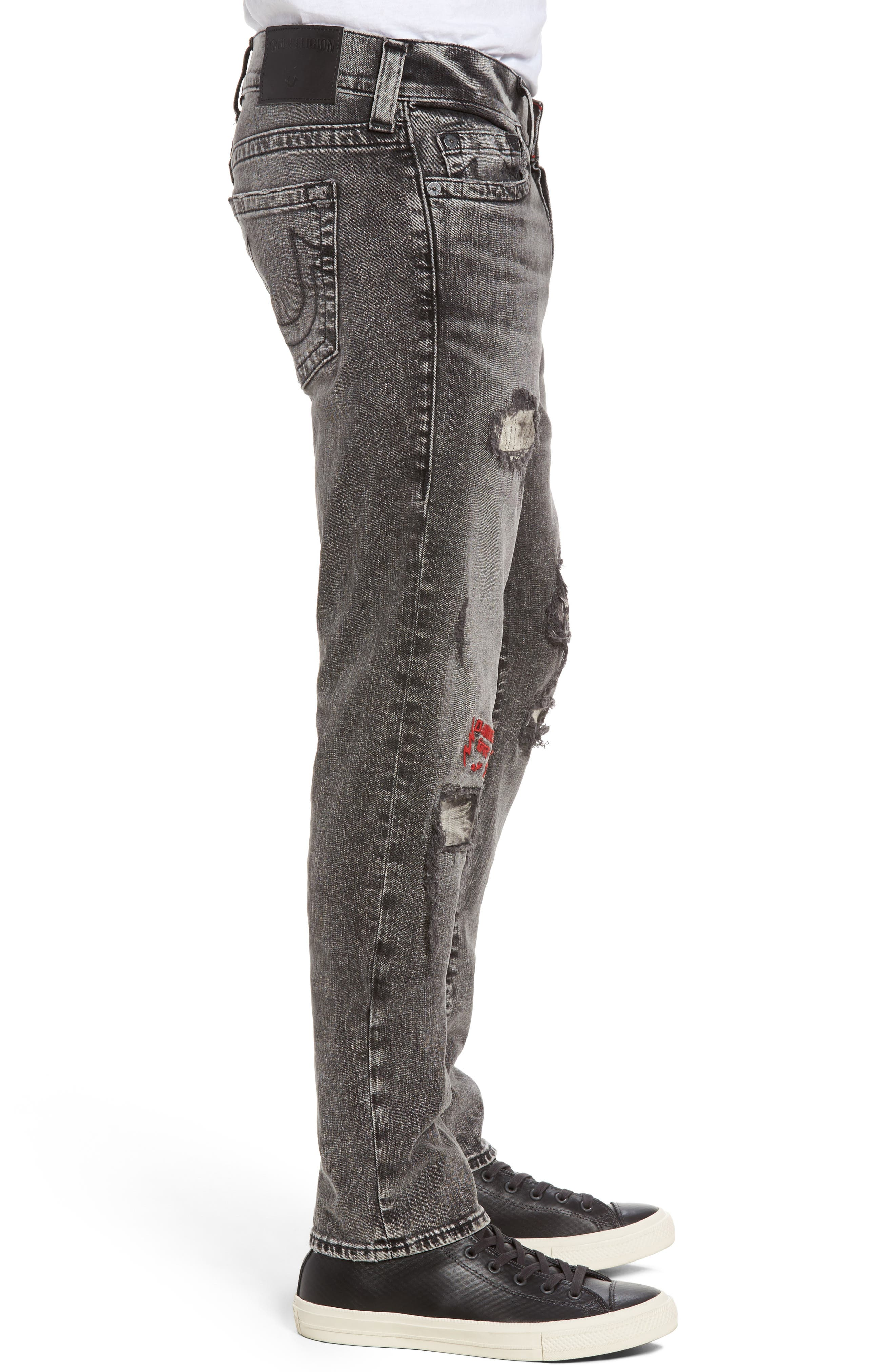 Rocco Skinny Fit Jeans,                             Alternate thumbnail 3, color,                             408