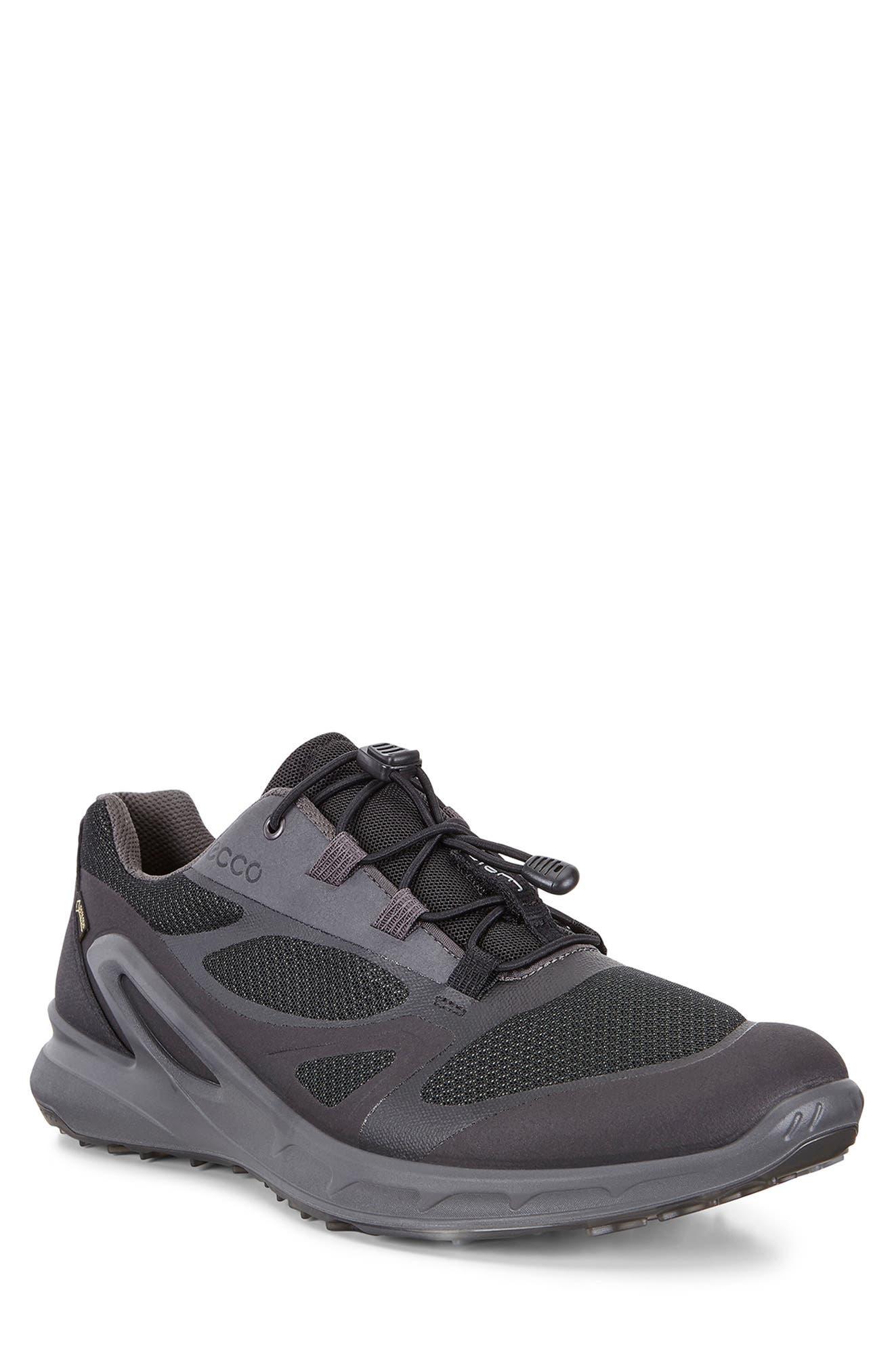Ecco Biom Omniquest Gore-Tex Sneaker,12.5 - Black