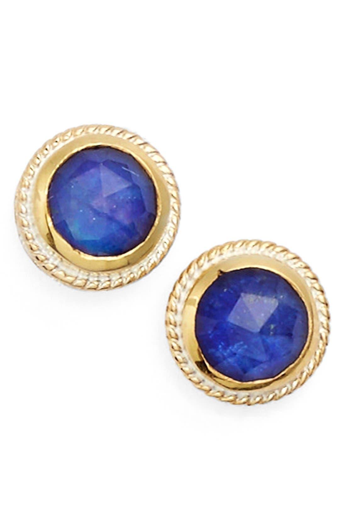 Stone Stud Earrings,                             Main thumbnail 11, color,