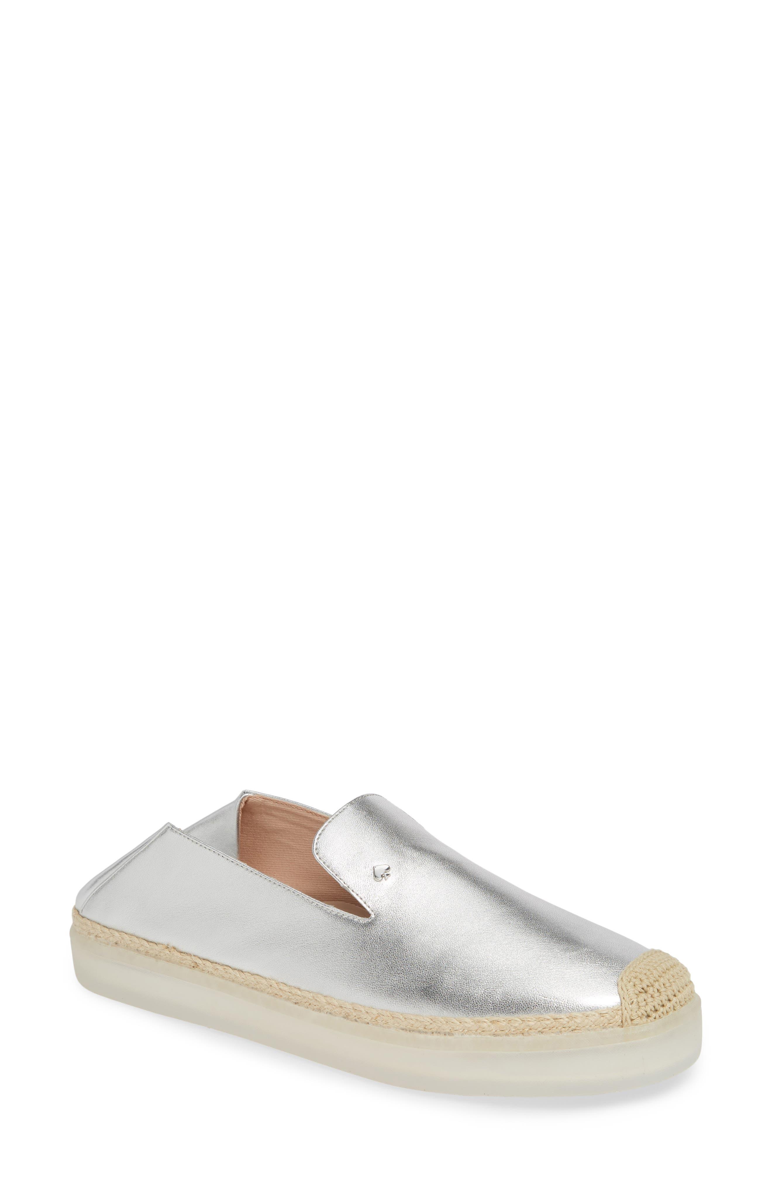 lisa slip-on sneaker,                             Main thumbnail 1, color,                             SILVER