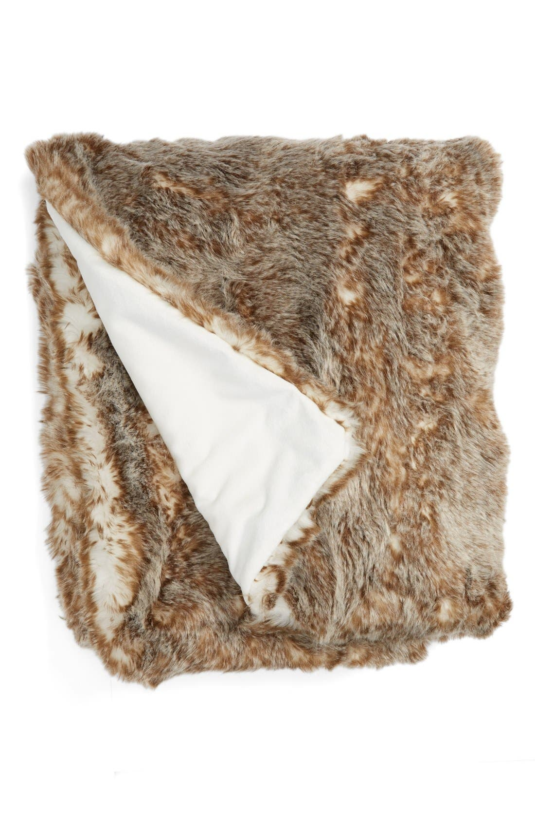 Cuddle Up Faux Fur Throw Blanket,                             Main thumbnail 19, color,