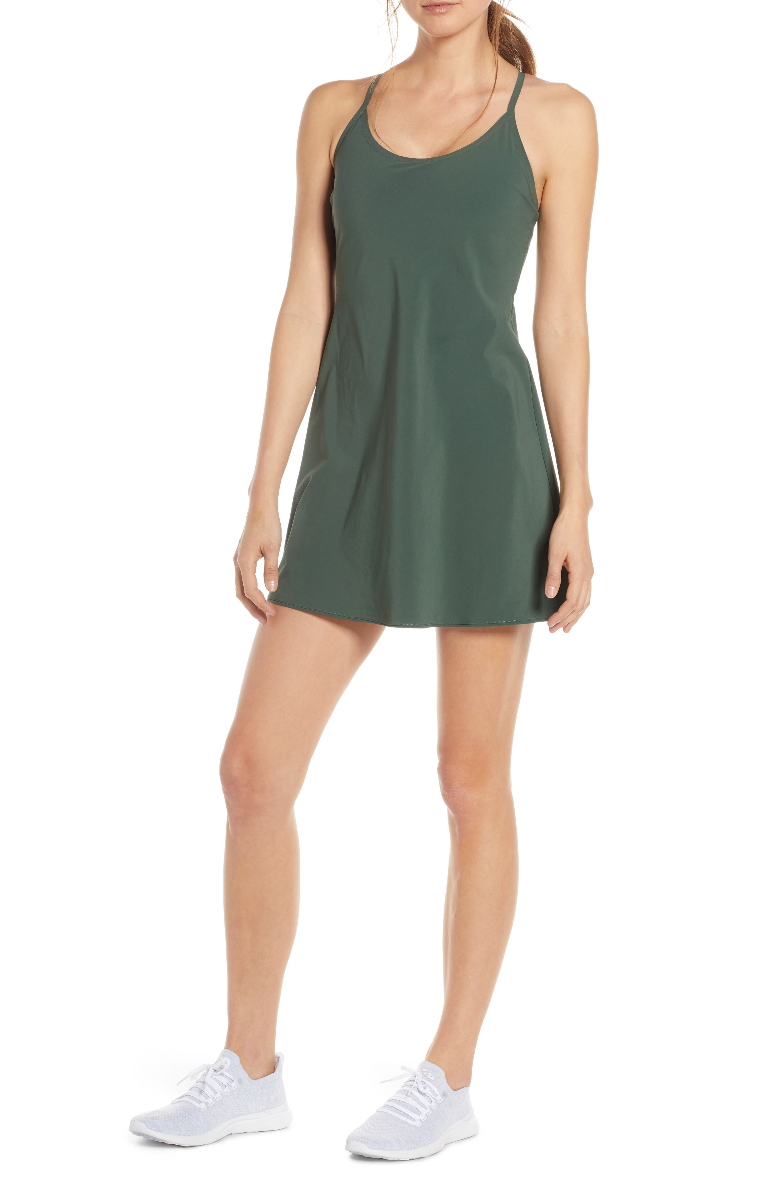 Outdoor Voices The Exercise Dress, Green
