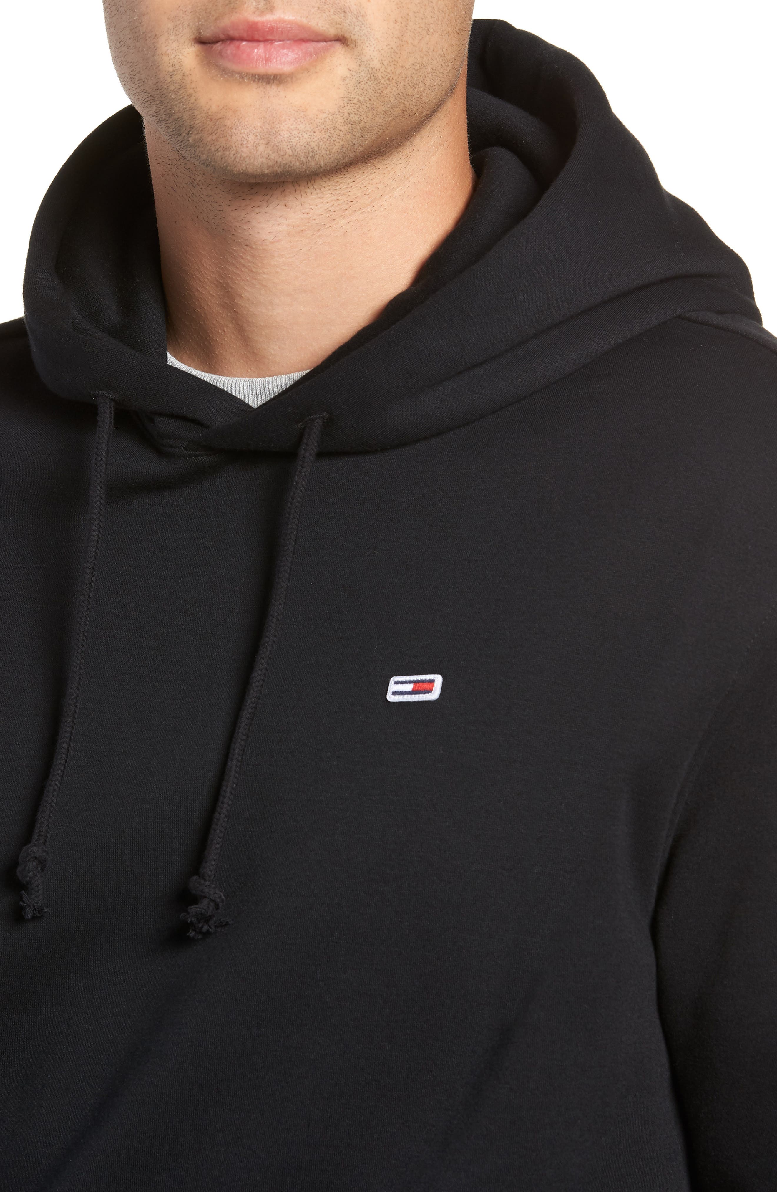 Tommy Classics Hoodie,                             Alternate thumbnail 4, color,                             001