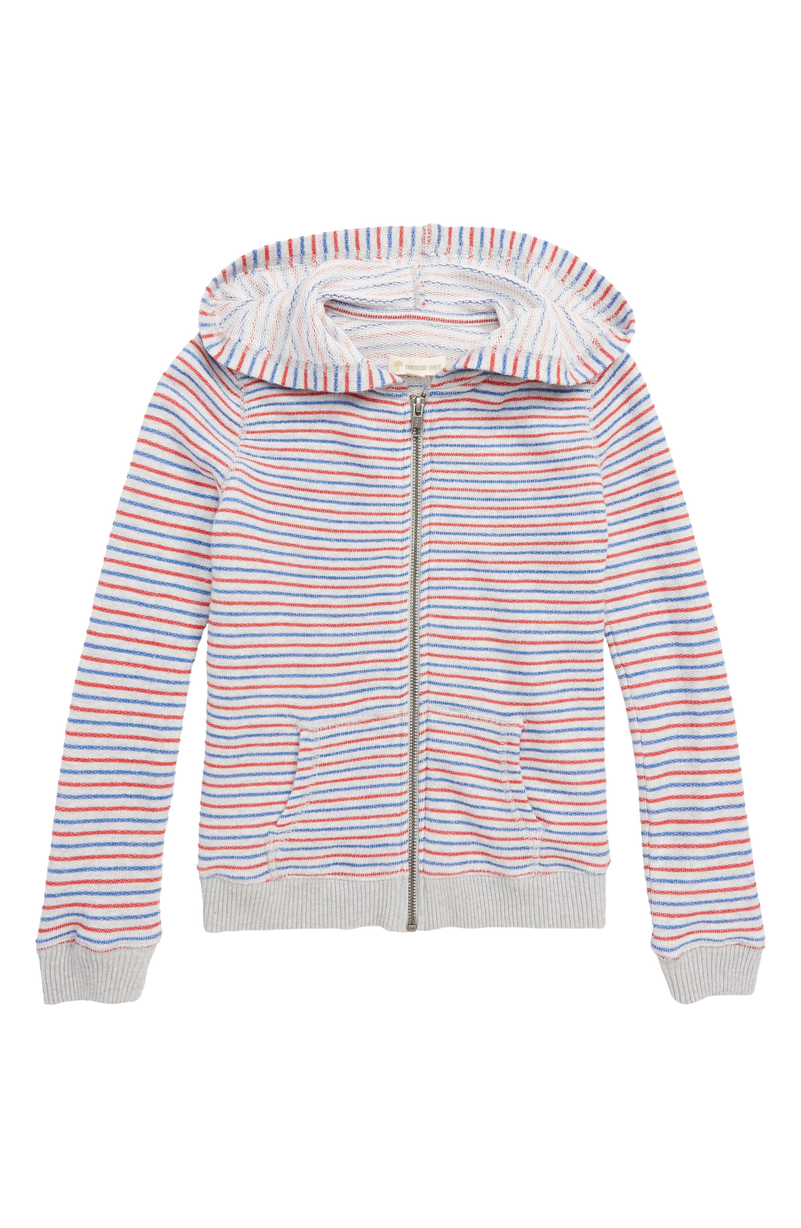 Stripe Hoodie,                         Main,                         color,