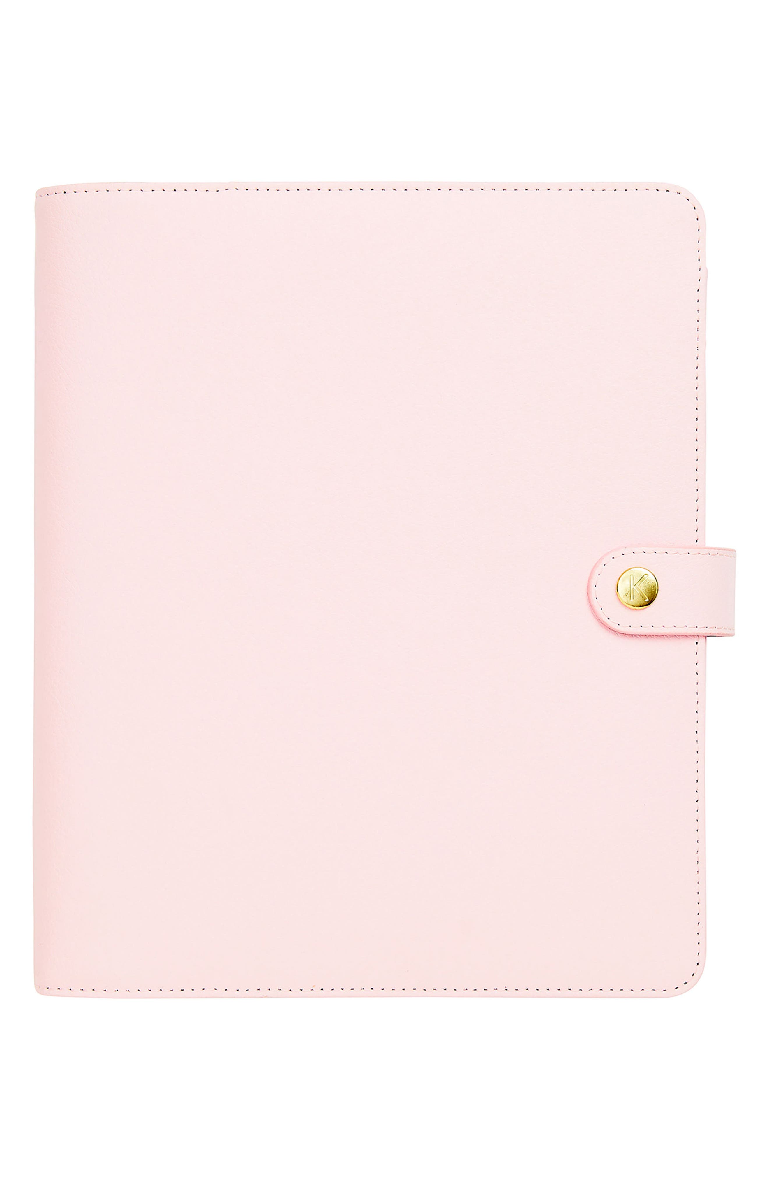 Leather 18-Month Perpetual Planner,                         Main,                         color, 653