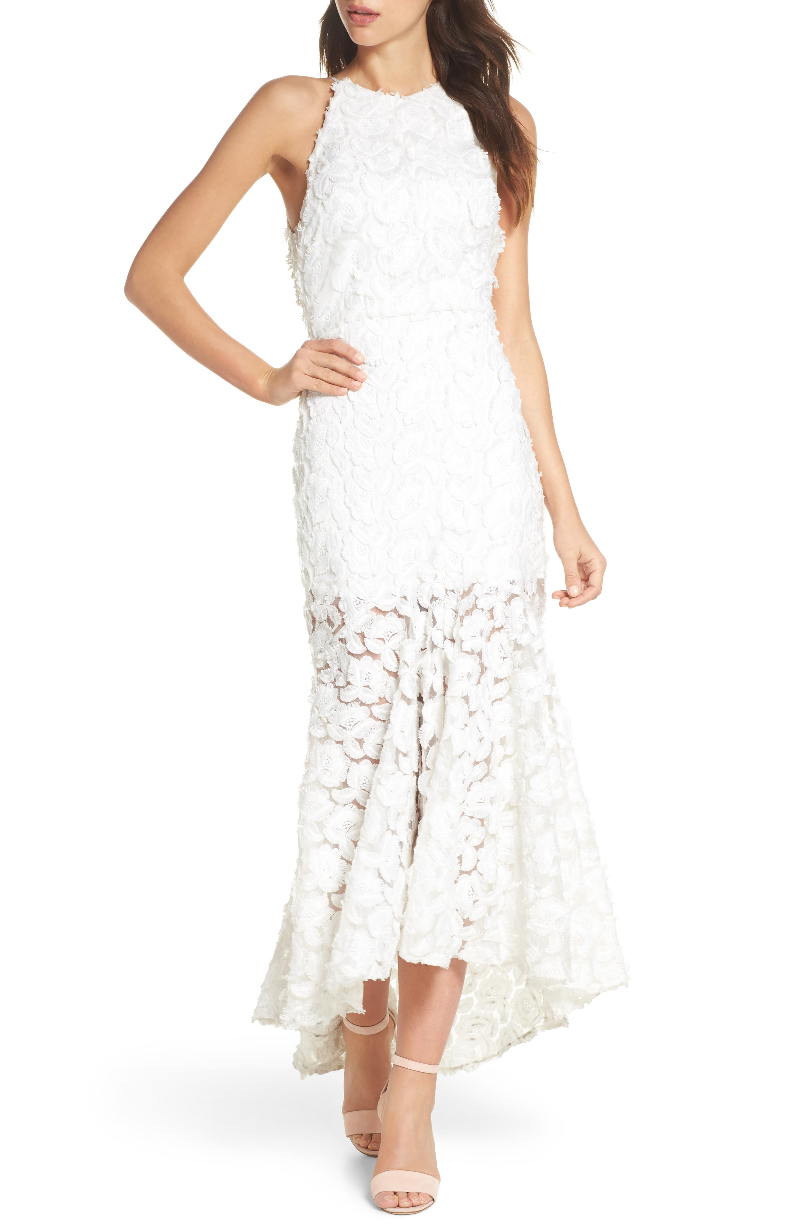Floral Mirage Mermaid Gown,                             Main thumbnail 1, color,