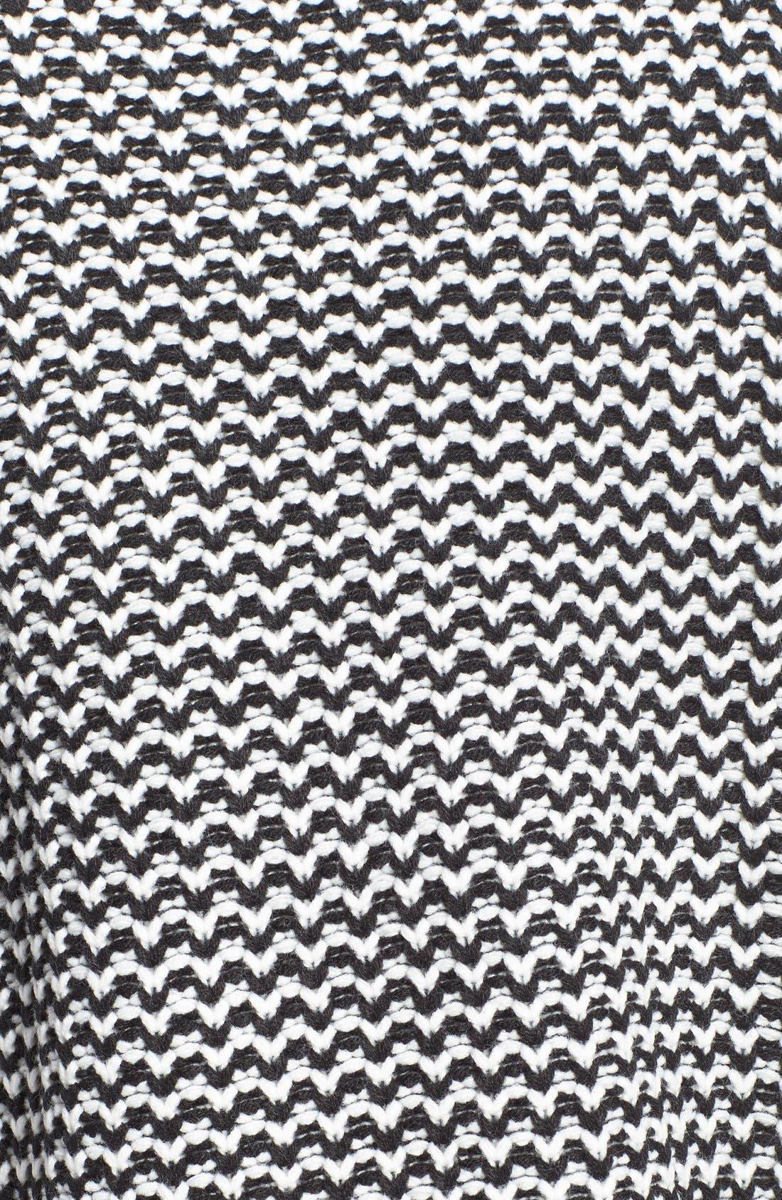 'Roller' Mock Neck Sweater,                             Alternate thumbnail 2, color,                             002