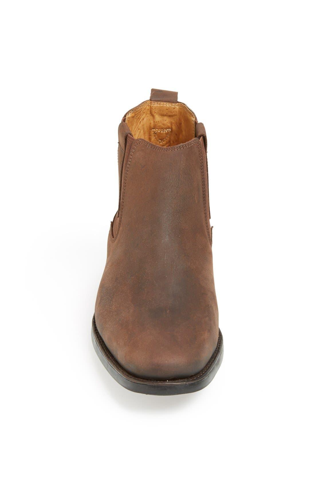 Natal Chelsea Boot,                             Alternate thumbnail 4, color,                             BROWN