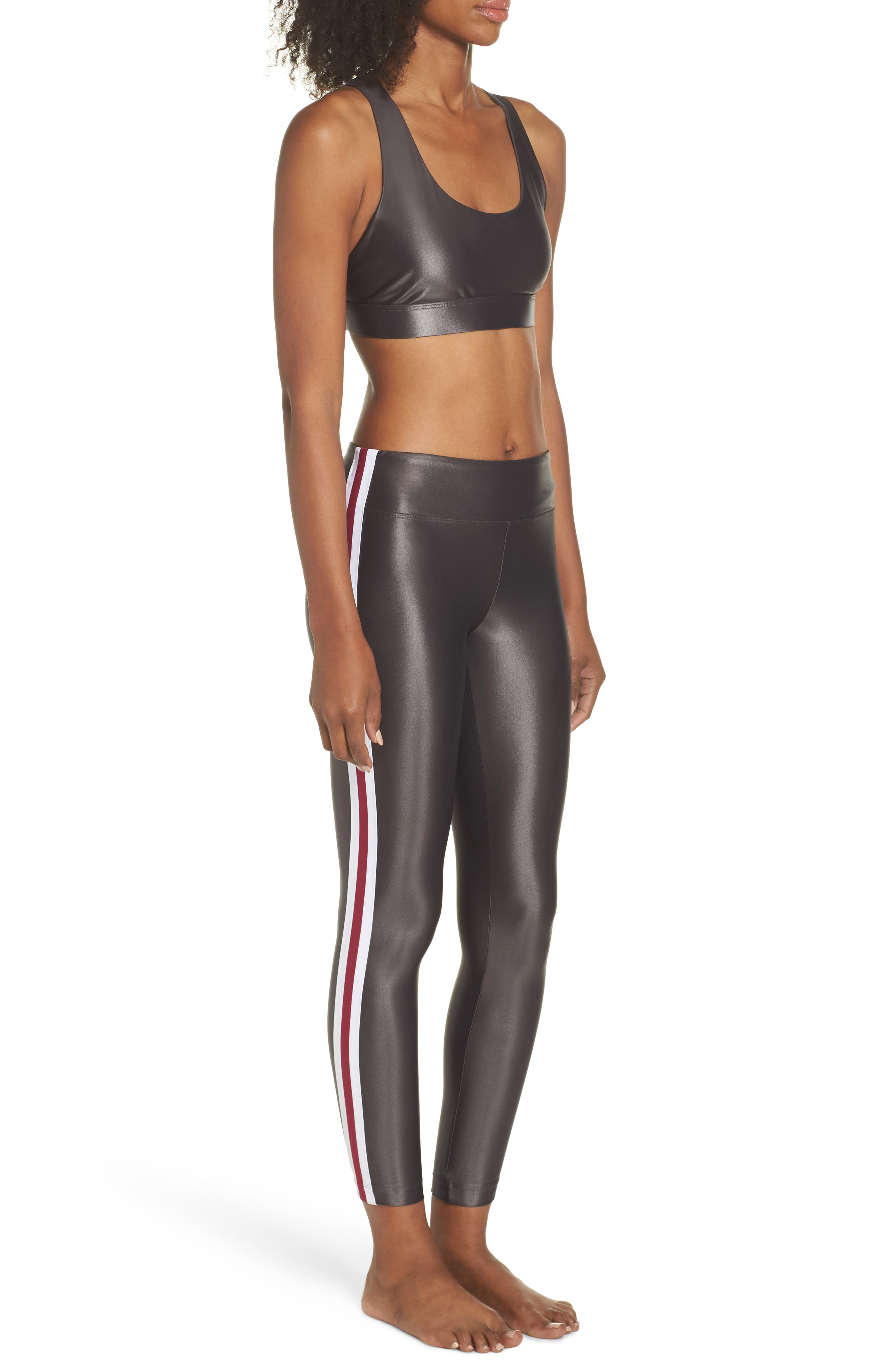 Fame Sports Bra,                             Alternate thumbnail 10, color,                             LEAD