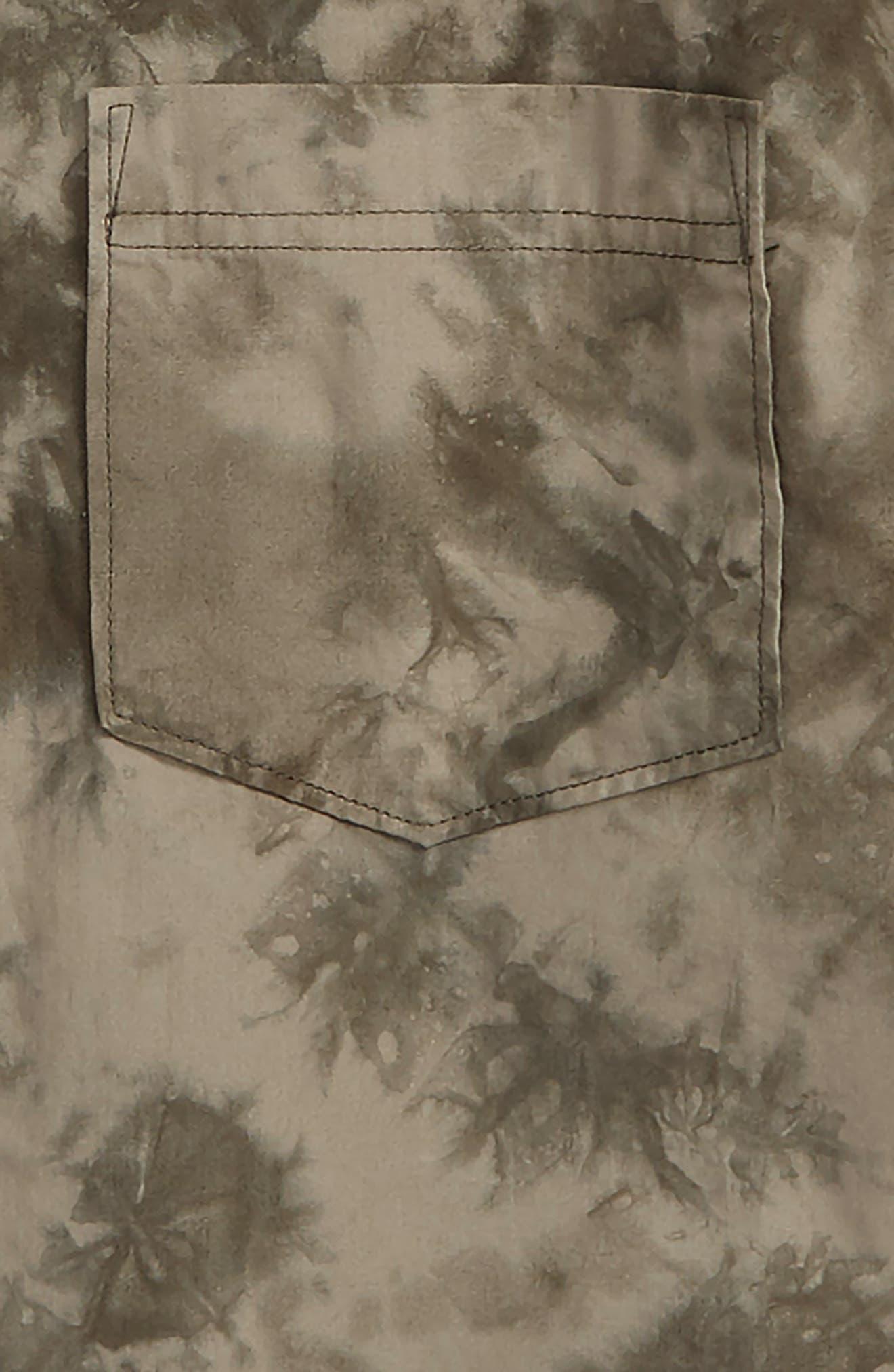 Tie Dye Poplin Shirt,                             Alternate thumbnail 2, color,                             021