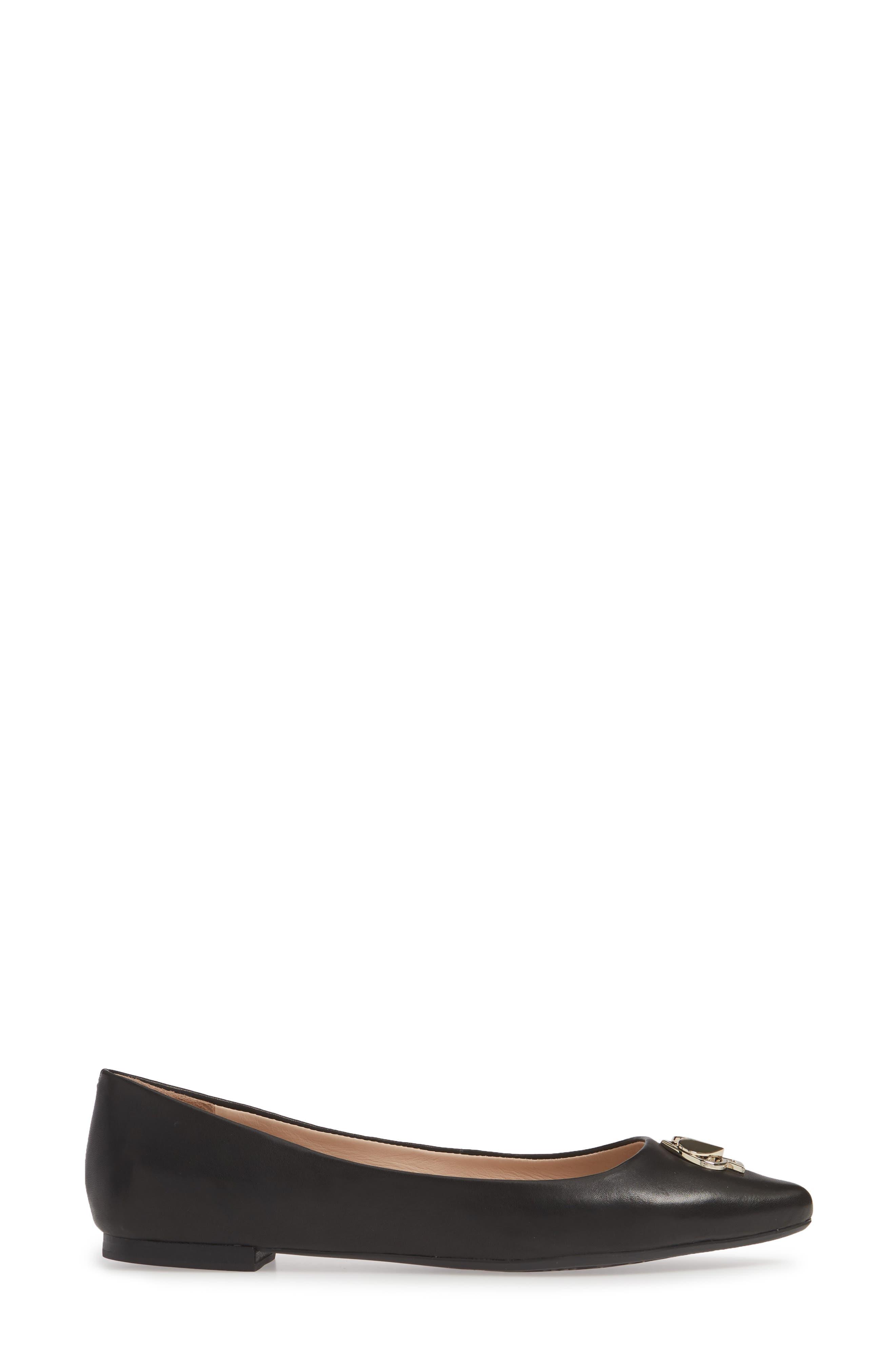 kate spade noah loafer,                             Alternate thumbnail 3, color,                             BLACK