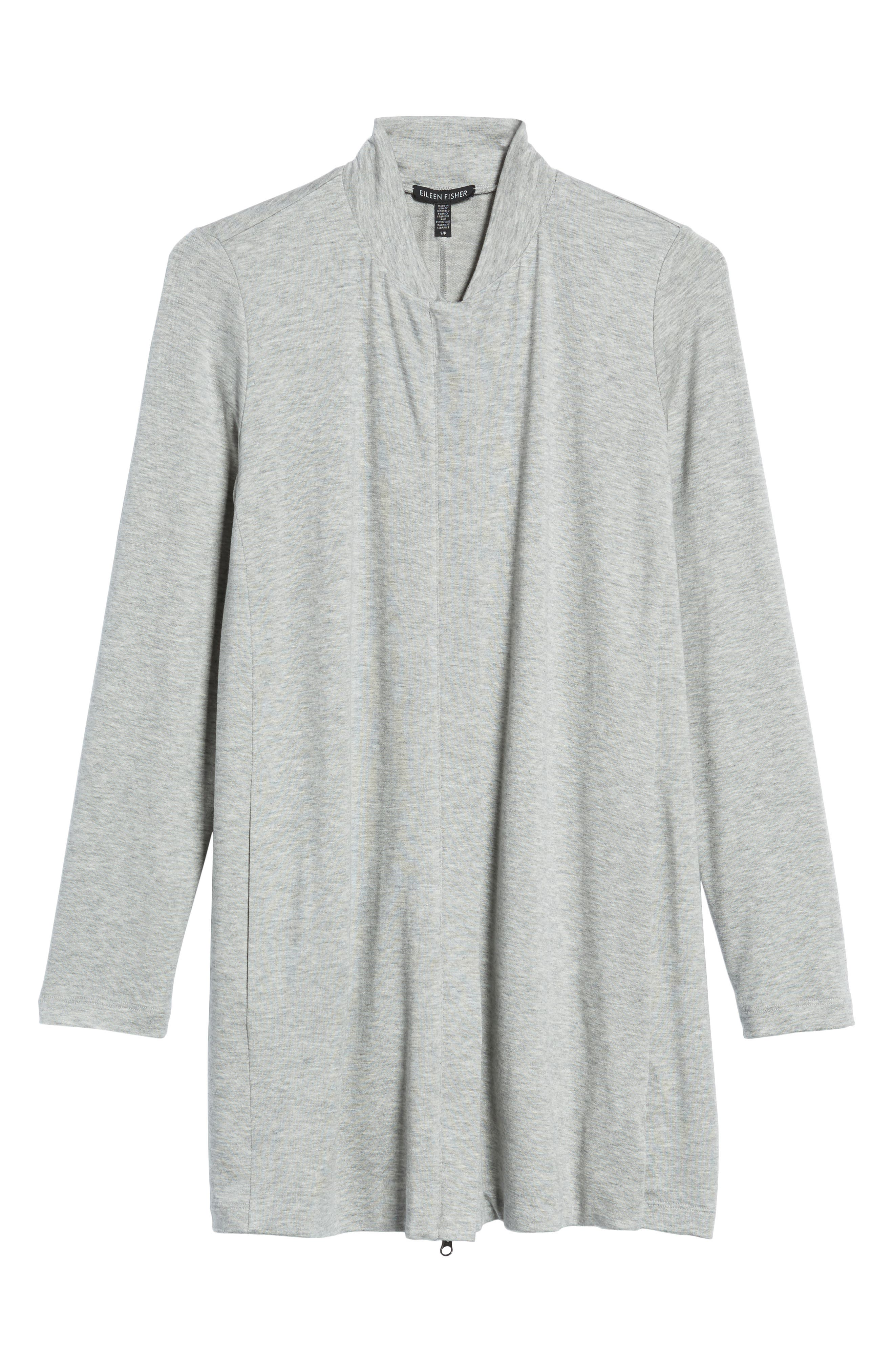 Front Zip Cardigan,                             Alternate thumbnail 10, color,