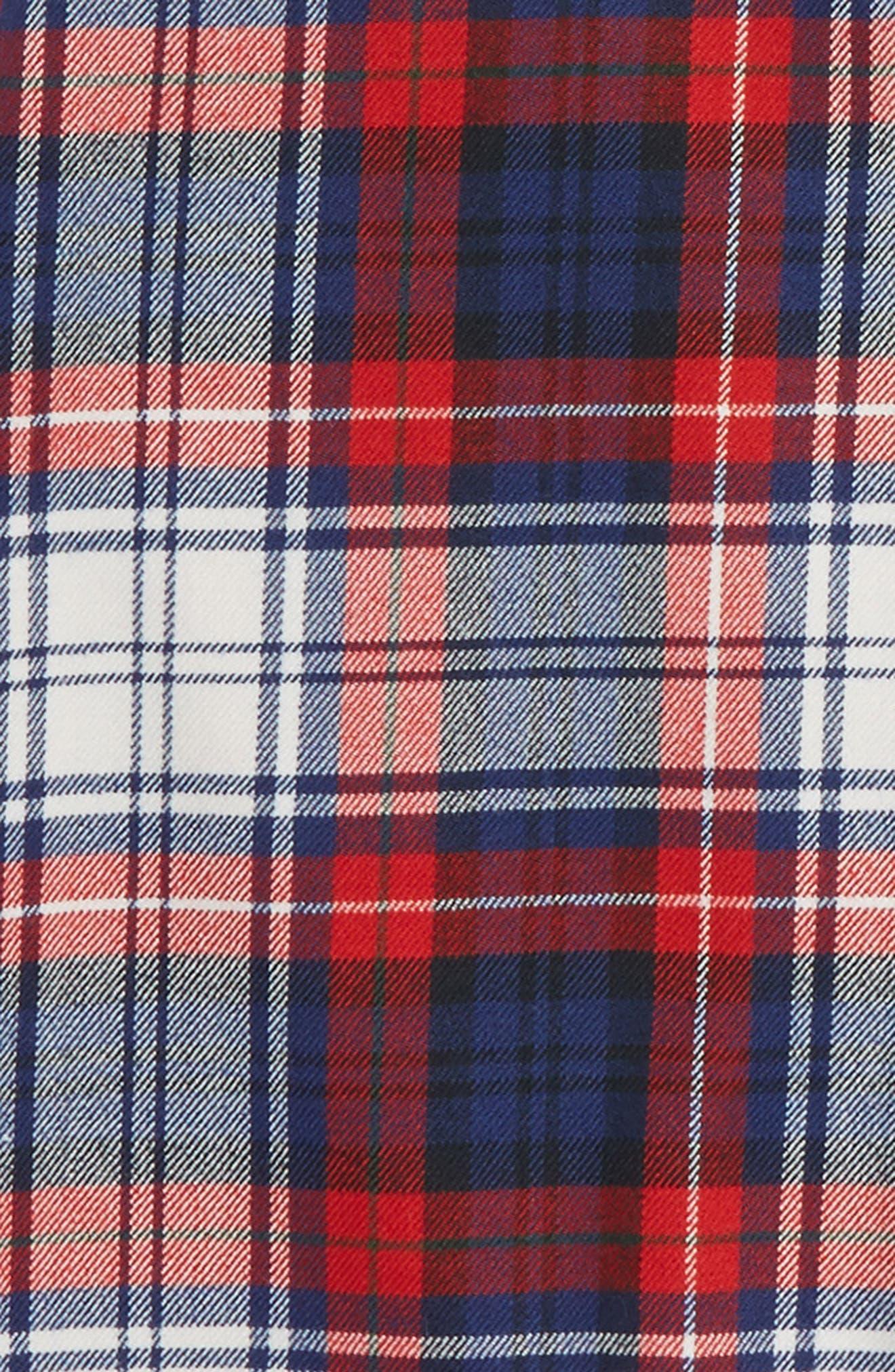 Wool Plaid Skirt,                             Alternate thumbnail 2, color,                             476