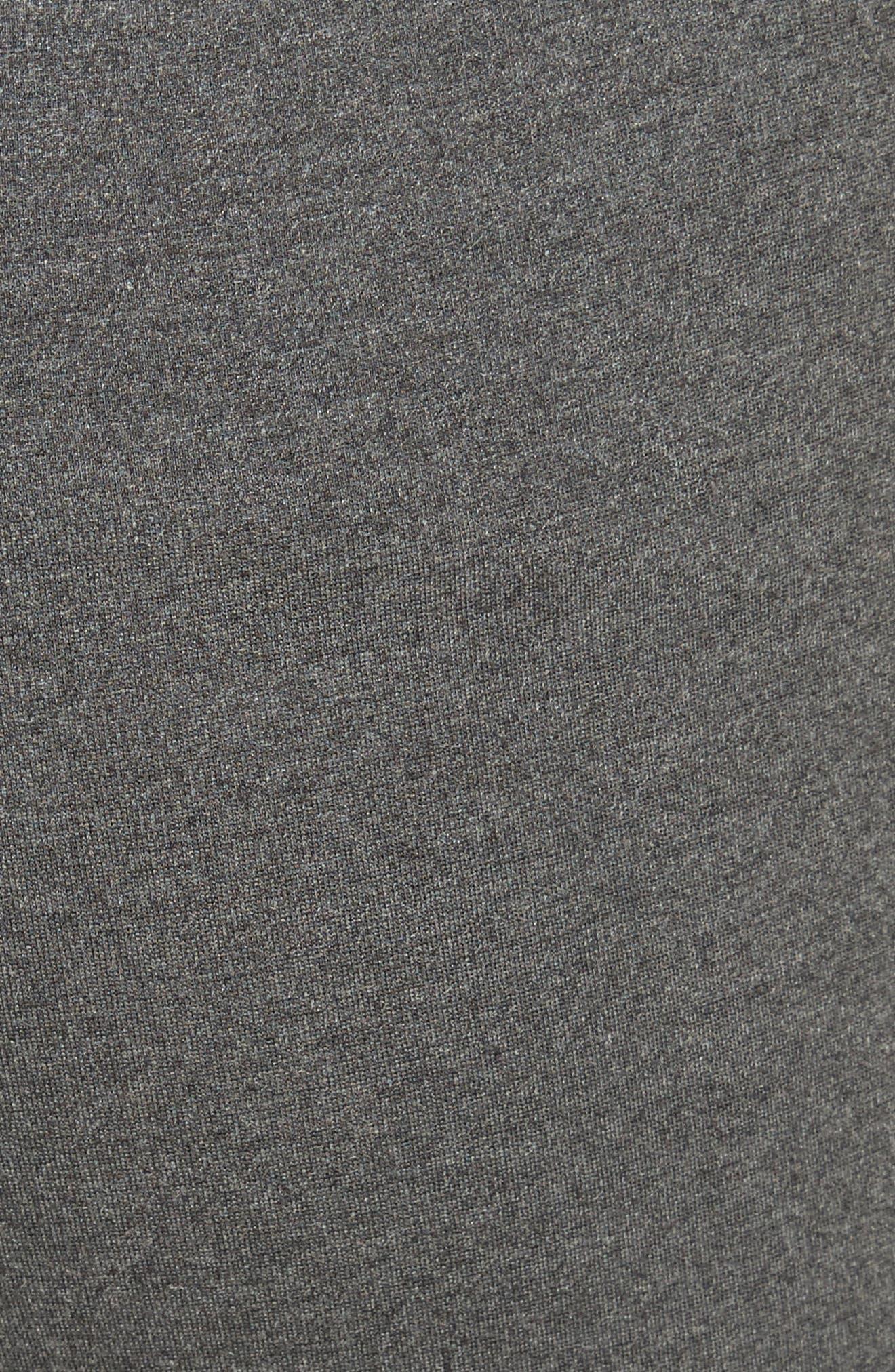 Slim Crop Pants,                             Alternate thumbnail 5, color,                             CHARCOAL