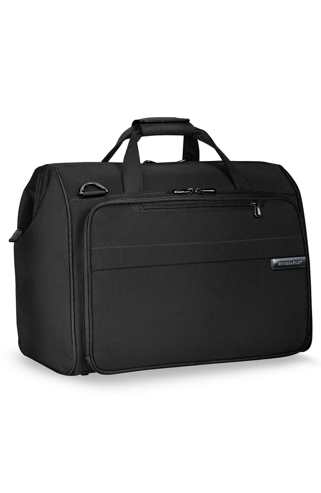 'Baseline' Duffel Bag,                             Alternate thumbnail 4, color,                             BLACK
